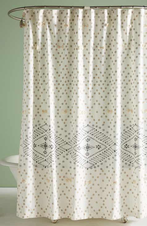 Anthropologie Liron Shower Curtain