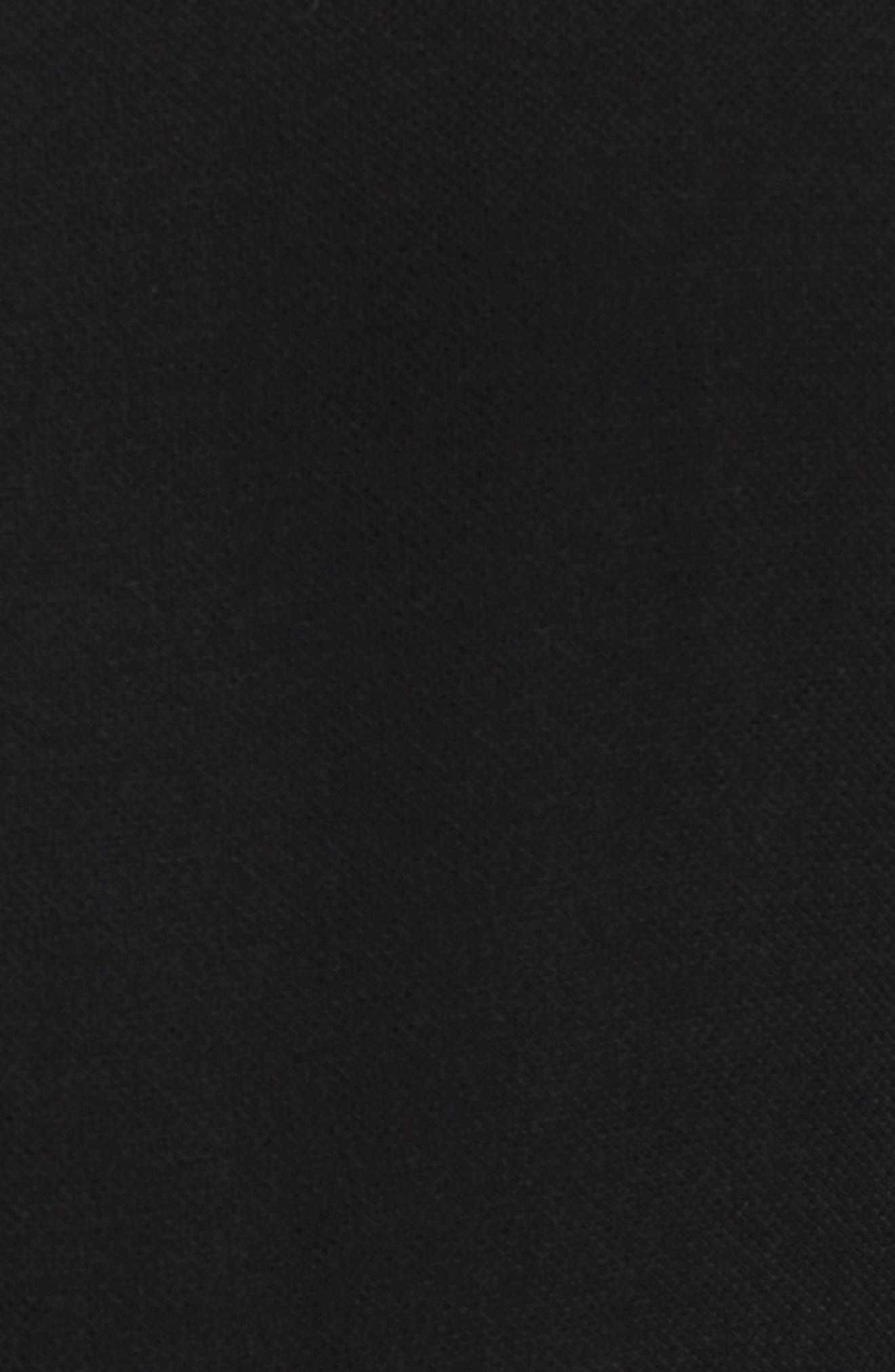 Willow One-Shoulder Jumpsuit,                             Alternate thumbnail 5, color,                             Black