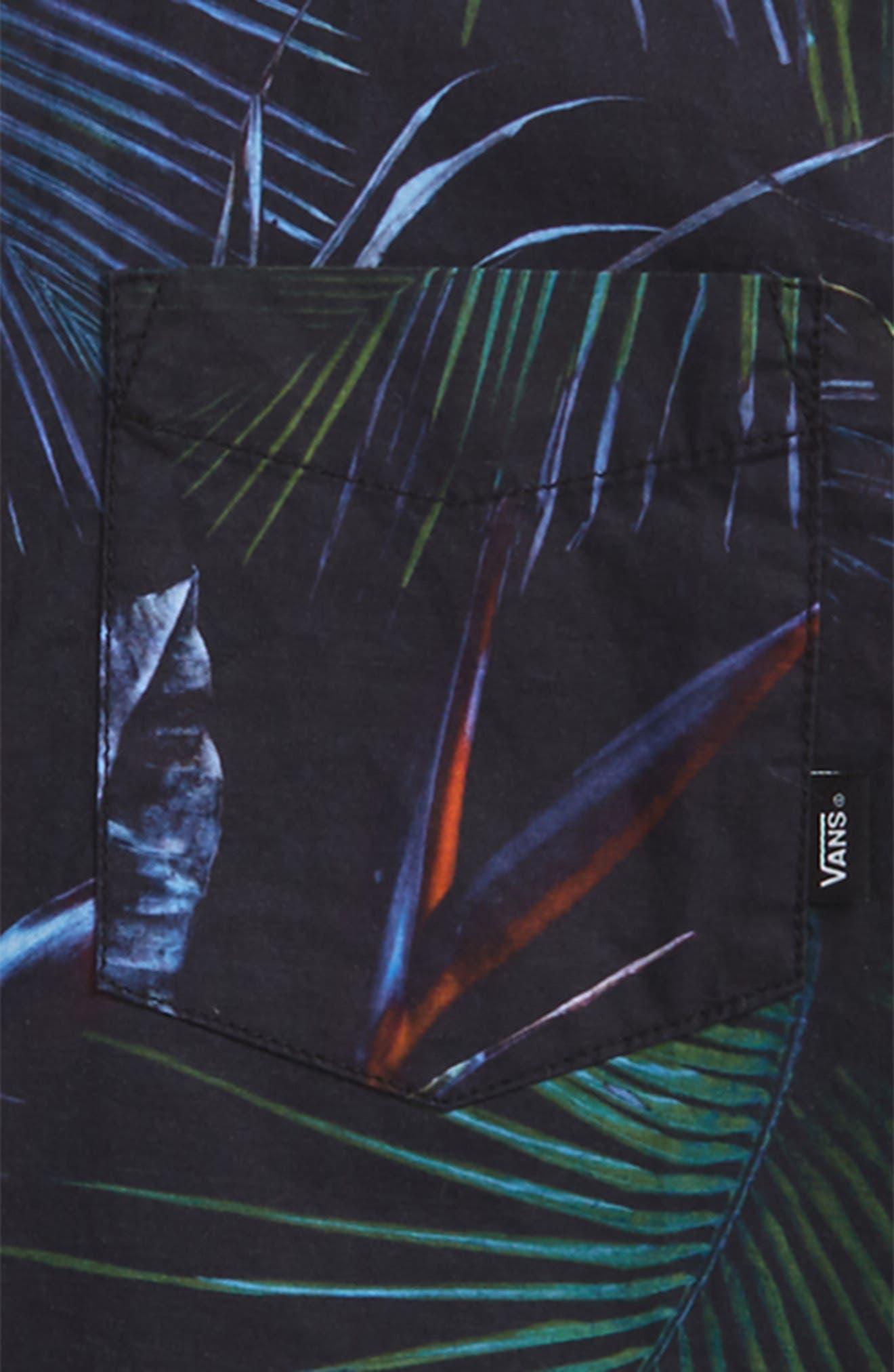 Neo Jungle Short Sleeve Woven Shirt,                             Alternate thumbnail 2, color,                             Neo Jungle