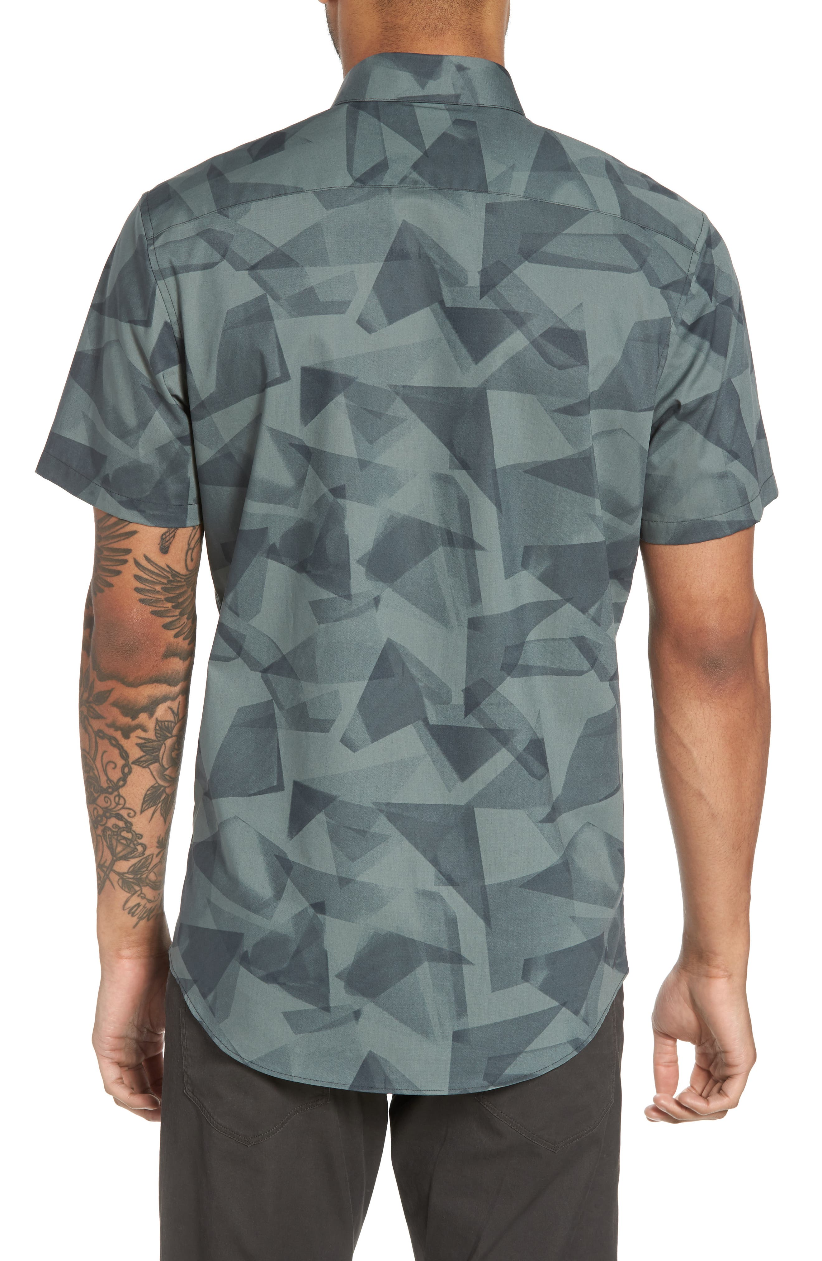 Alternate Image 3  - Calibrate Geo Print Sport Shirt