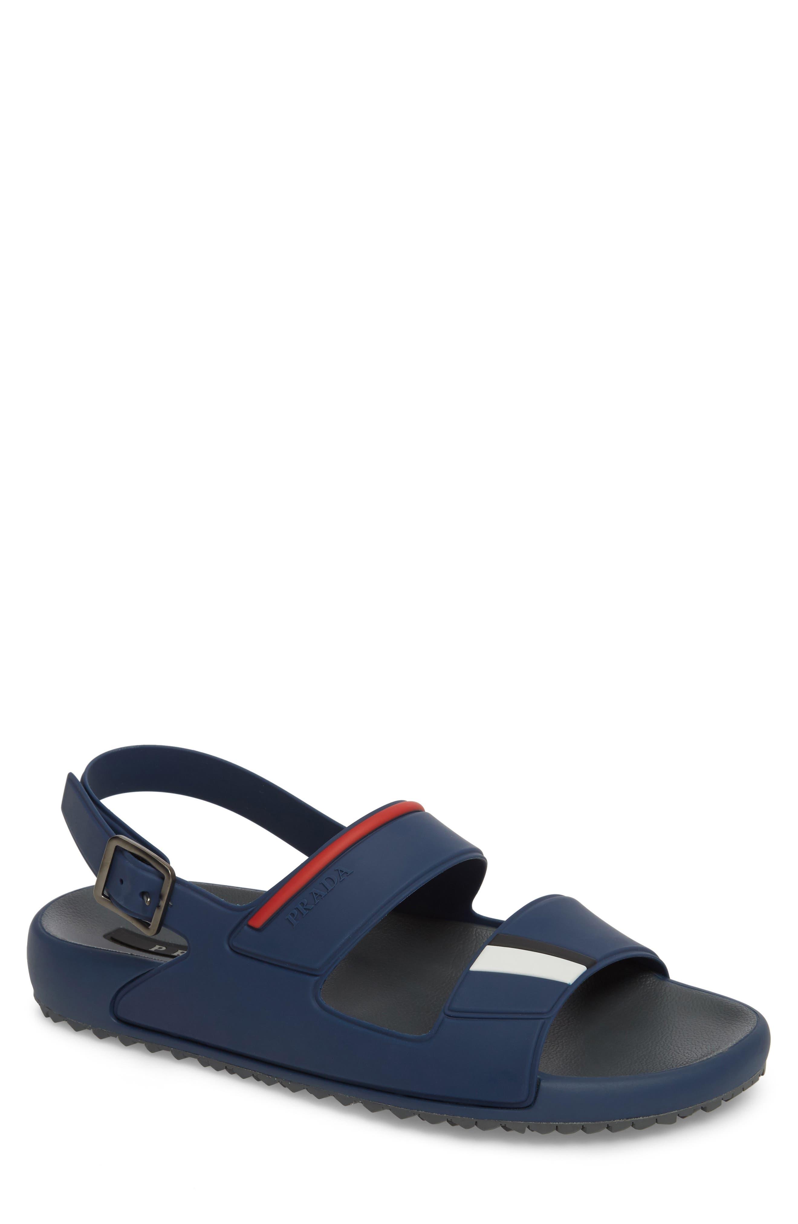 Alternate Image 1 Selected - Prada Linea Rossa Sandal (Men)