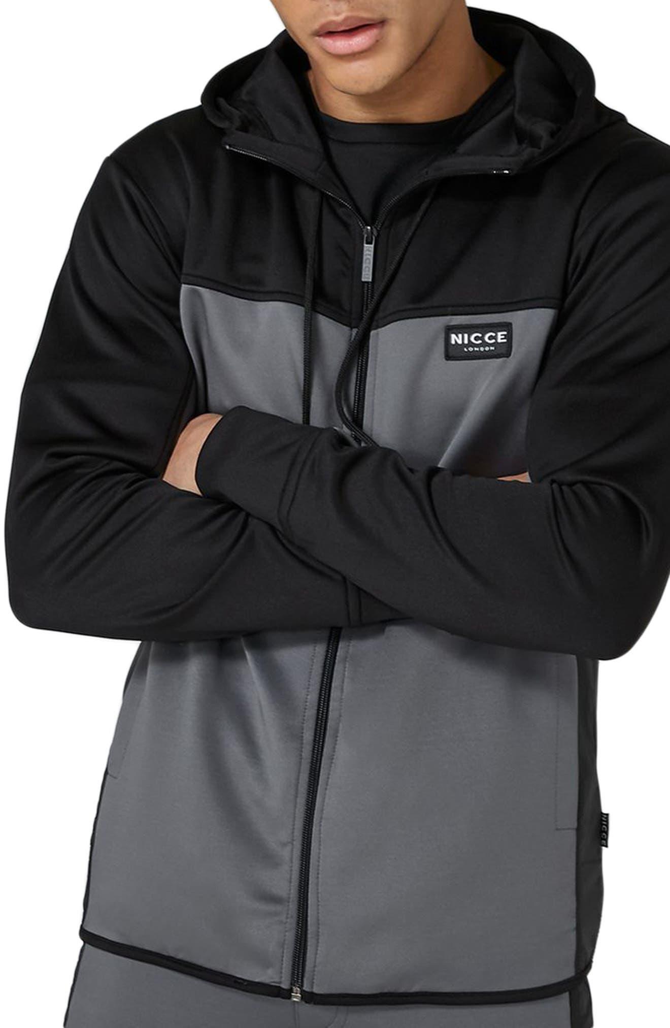 Main Image - Topshop NICCE Hybrid Track Jacket