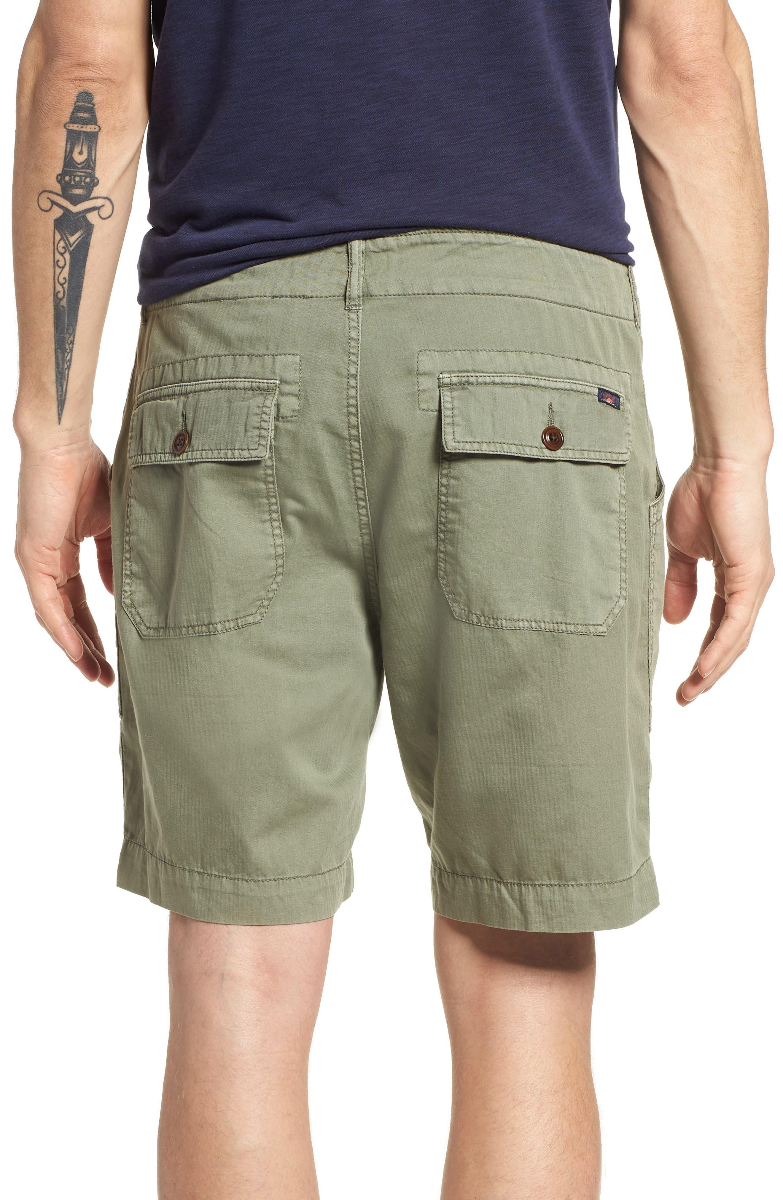 Radar Camp Shorts,                             Alternate thumbnail 2, color,                             Olive