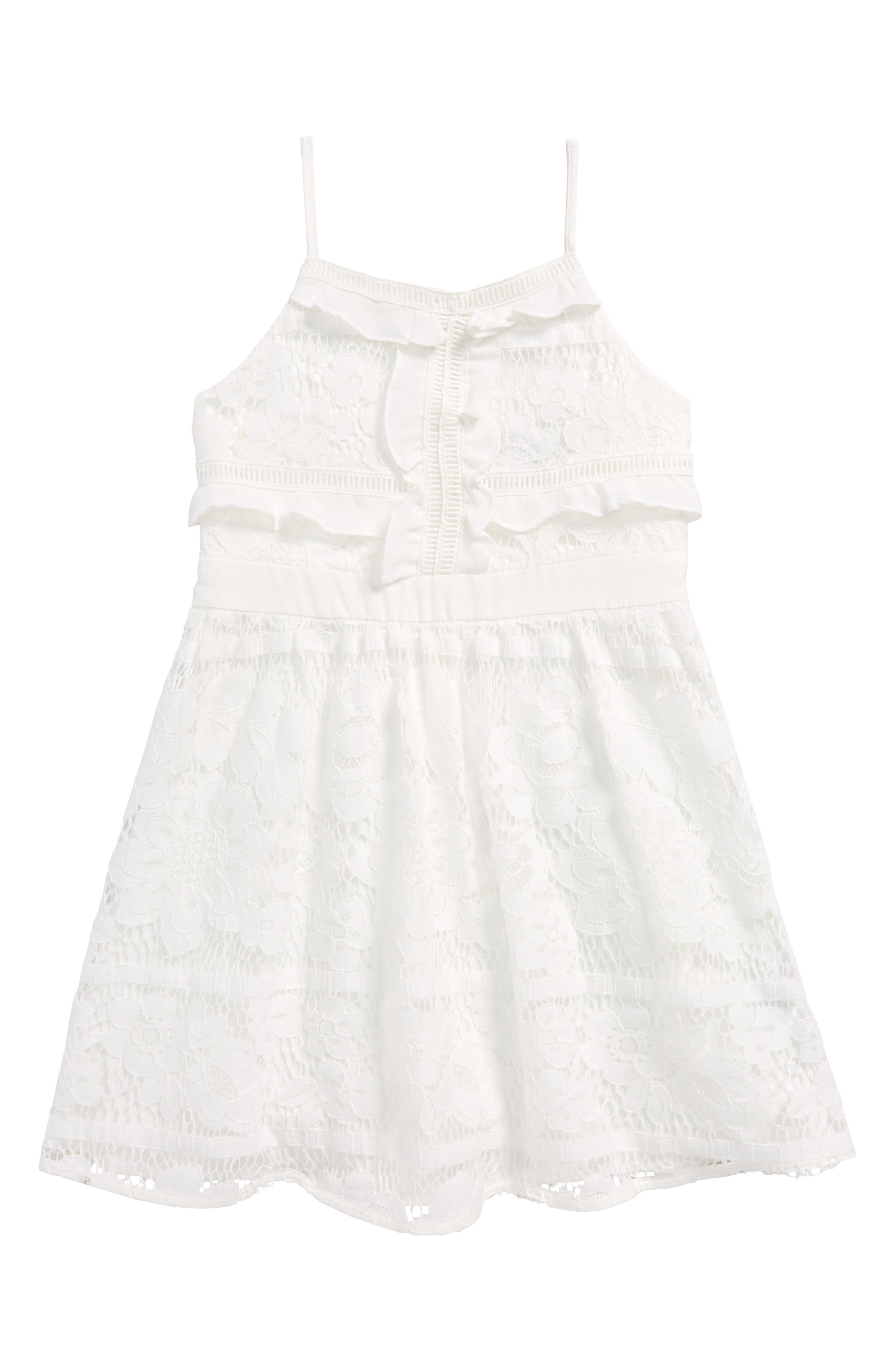 Main Image - Bardot Junior Vienna Lace Sundress (Baby Girls, Toddler Girls & Little Girls)