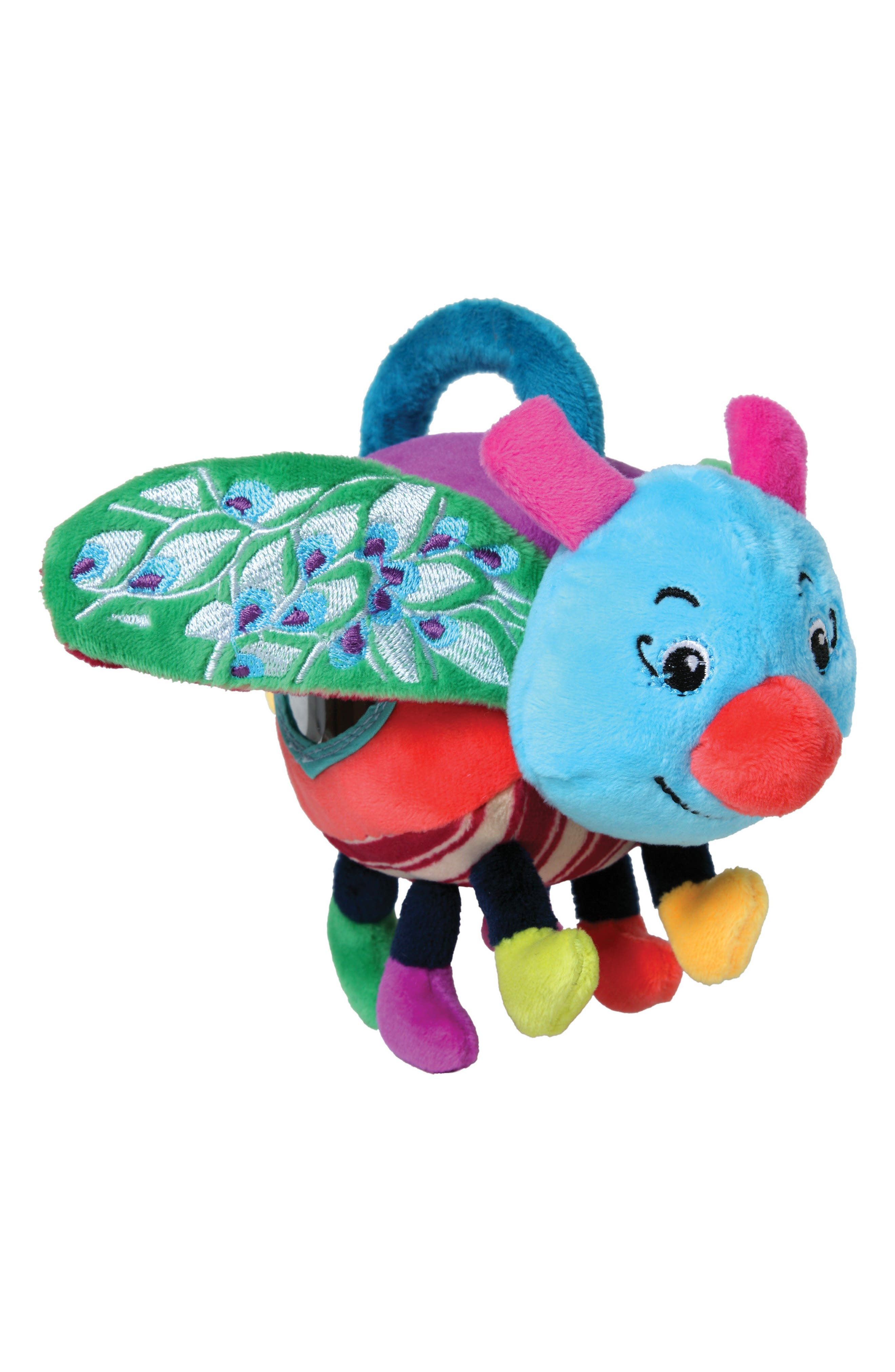 Noisy Bug Stuffed Toy,                         Main,                         color, Multi