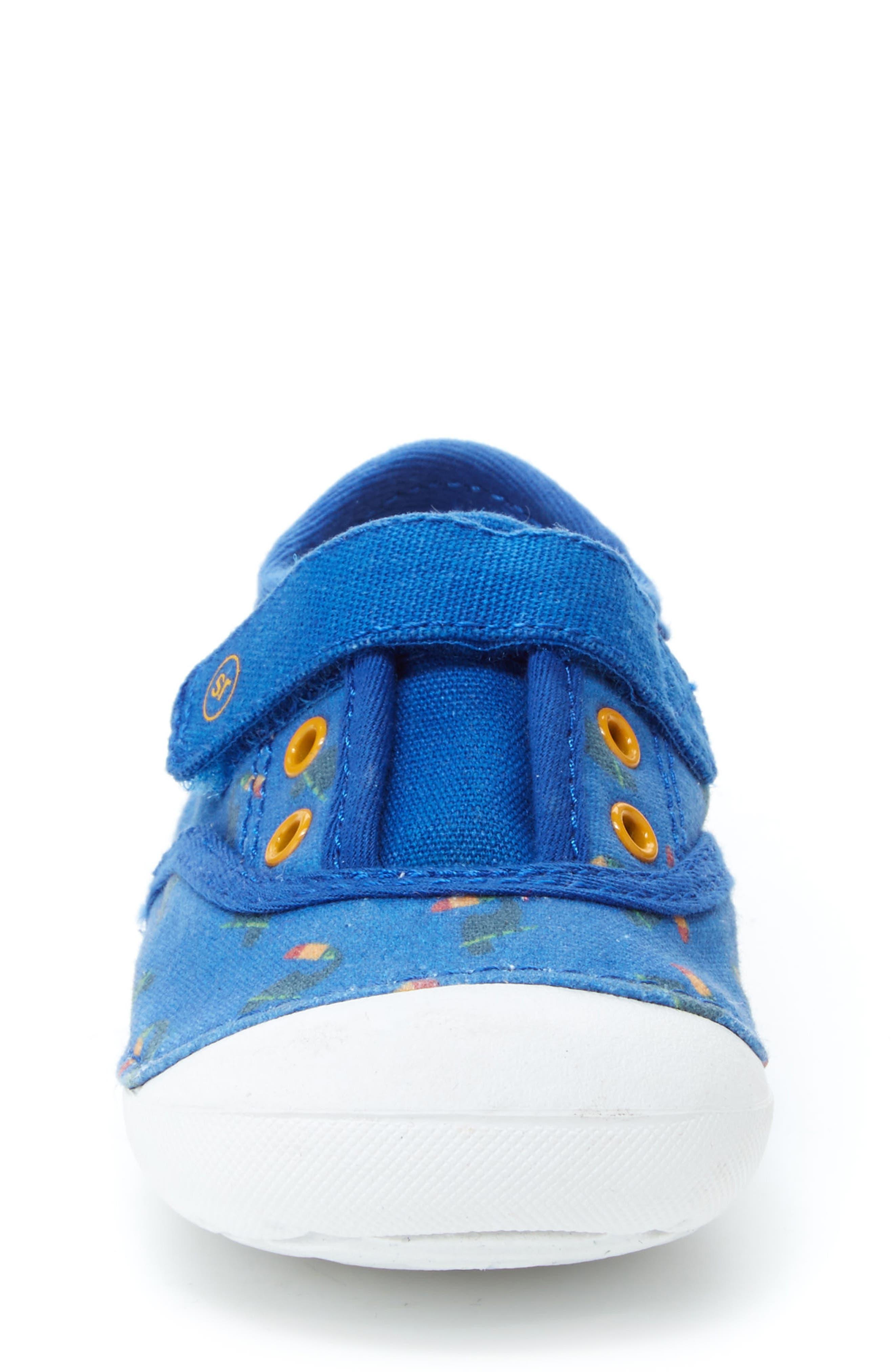 Soft Motion Avery Sneaker,                             Alternate thumbnail 3, color,                             Blue Toucan