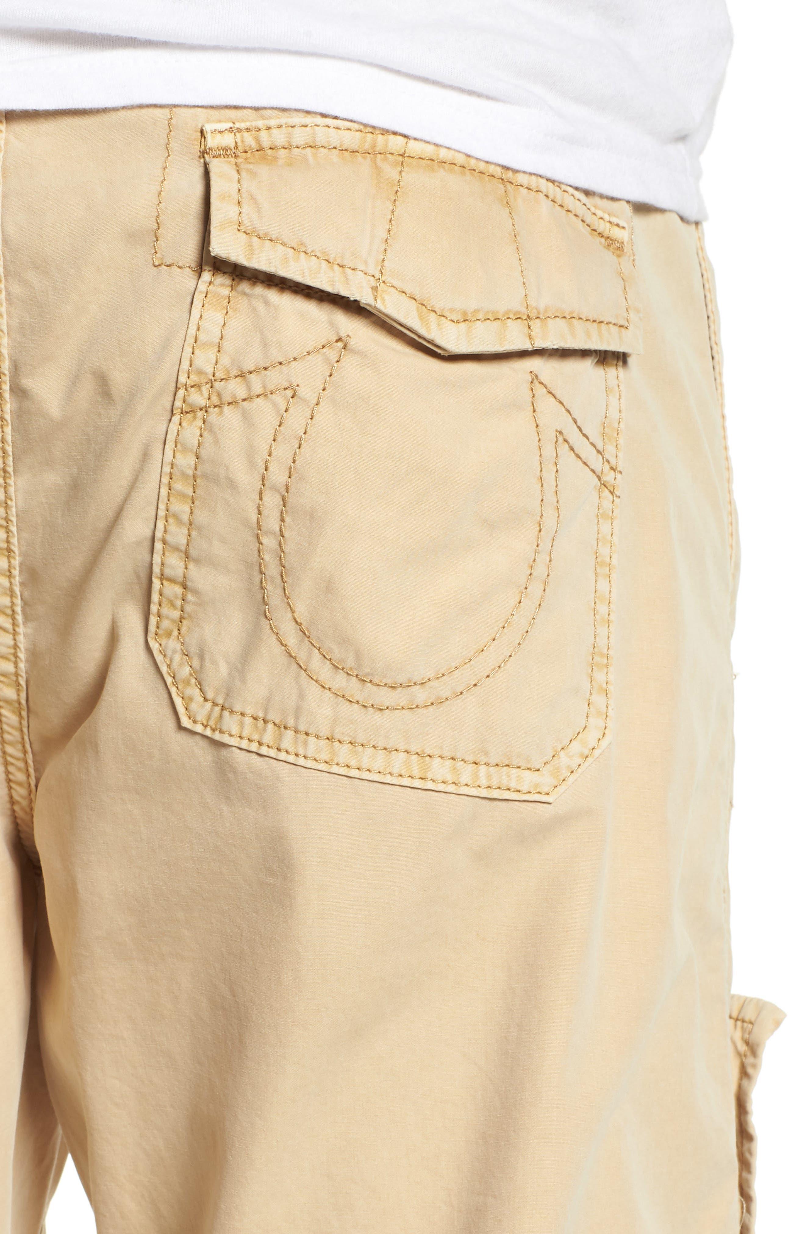 Alternate Image 4  - True Religion Brand Jeans Officer Field Shorts