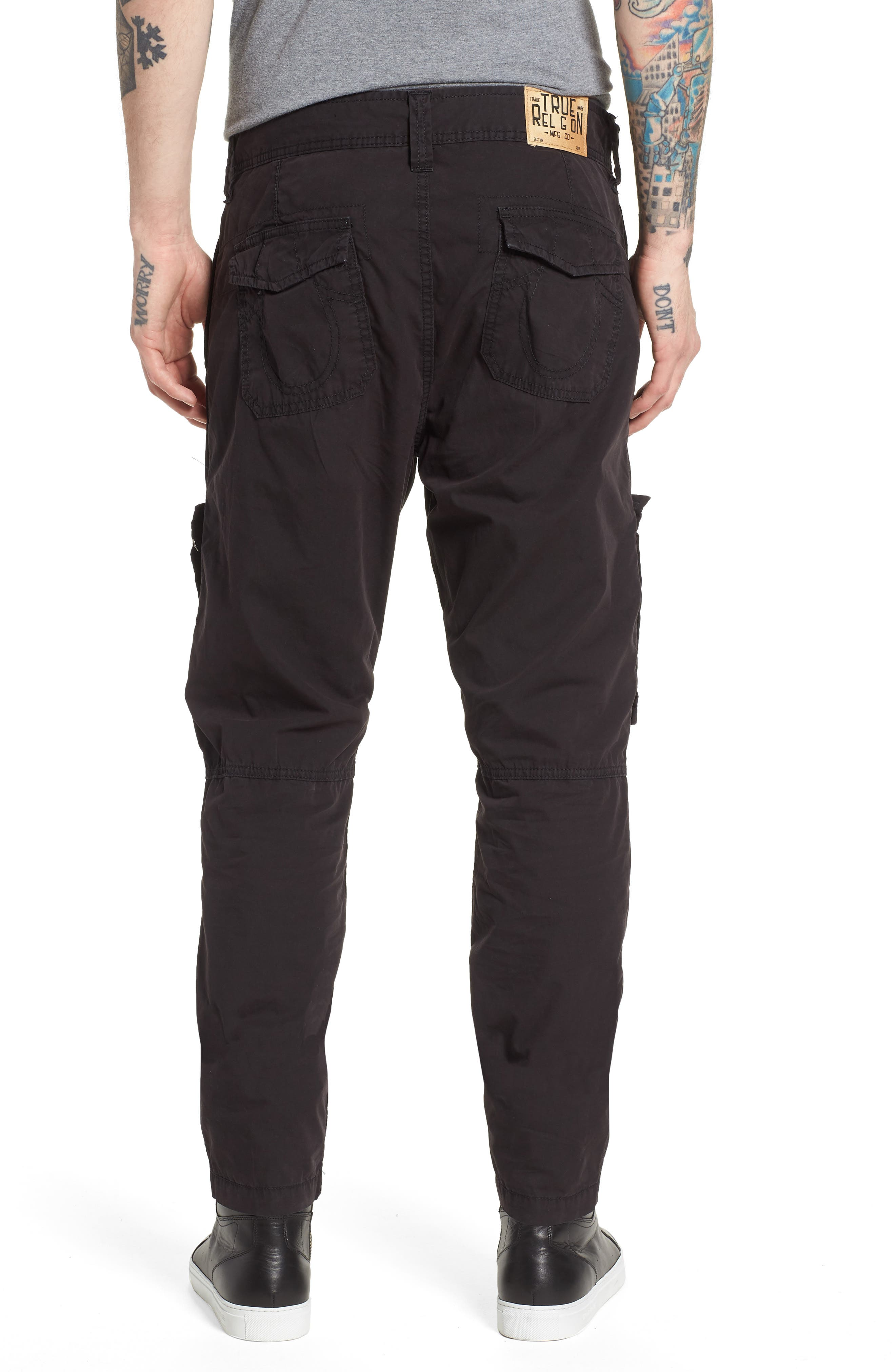Officer Field Pants,                             Alternate thumbnail 2, color,                             Black