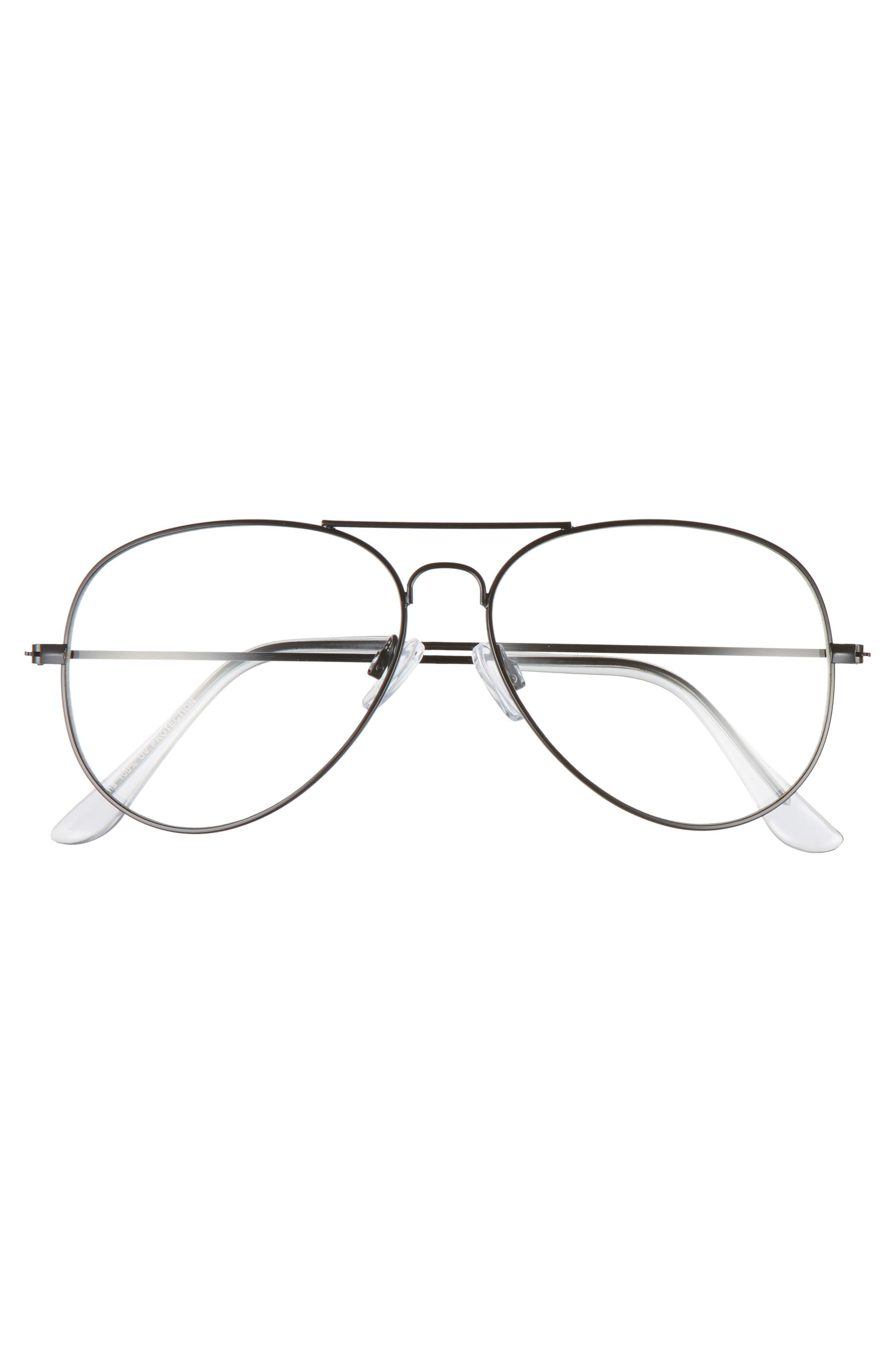 Alternate Image 3  - BP. Mirrored Aviator 57mm Sunglasses