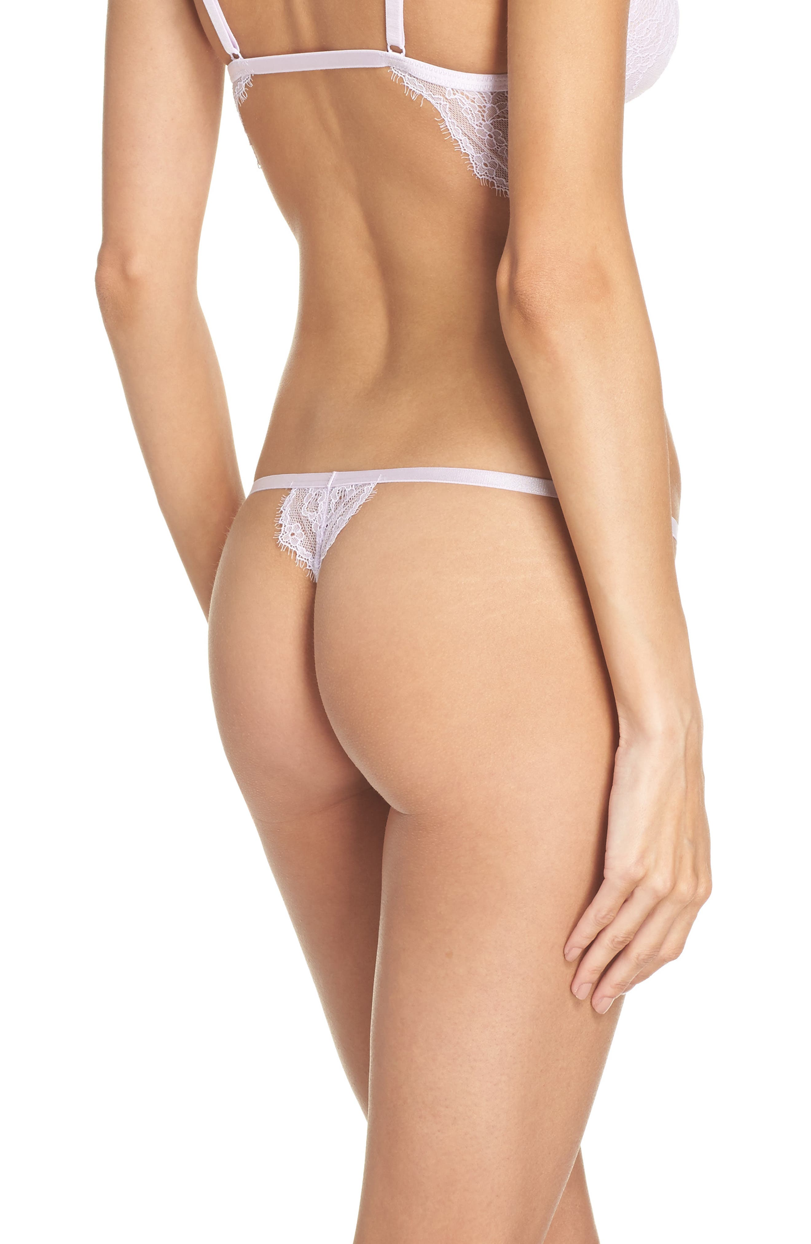 Intimately FP You're So Great Thong,                             Alternate thumbnail 2, color,                             Lilac
