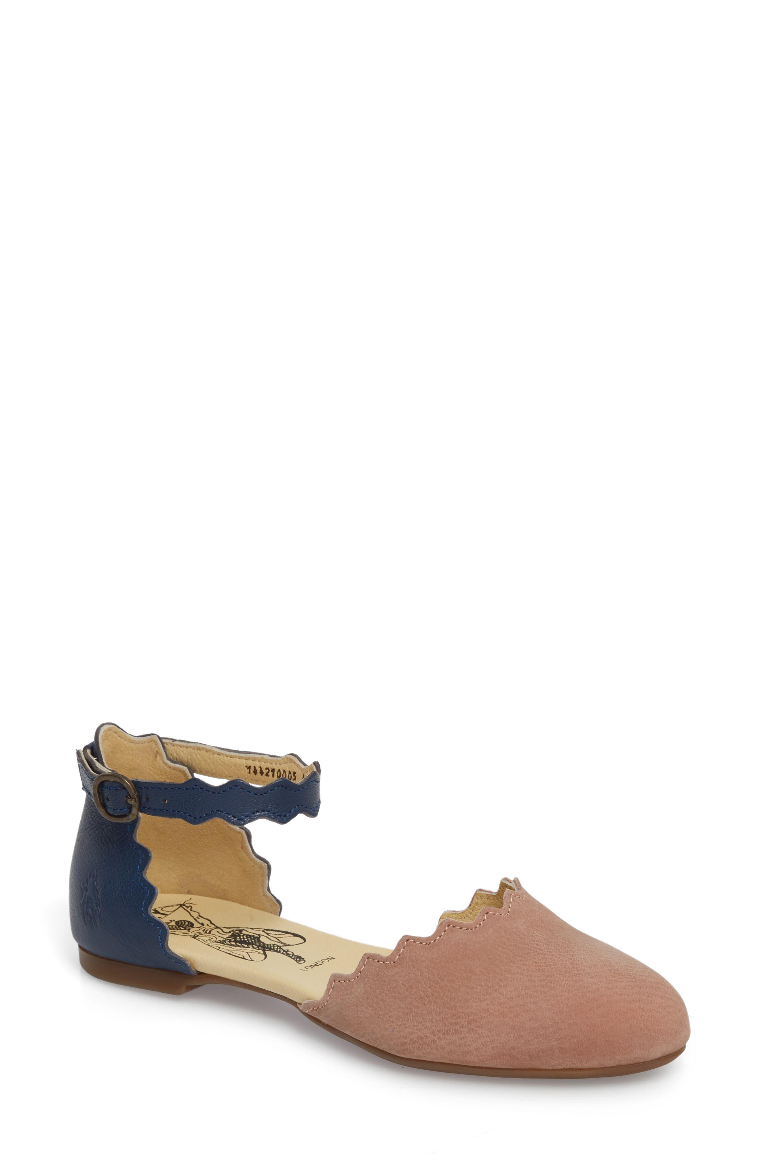Fly London Megs Scalloped Flat (Women)