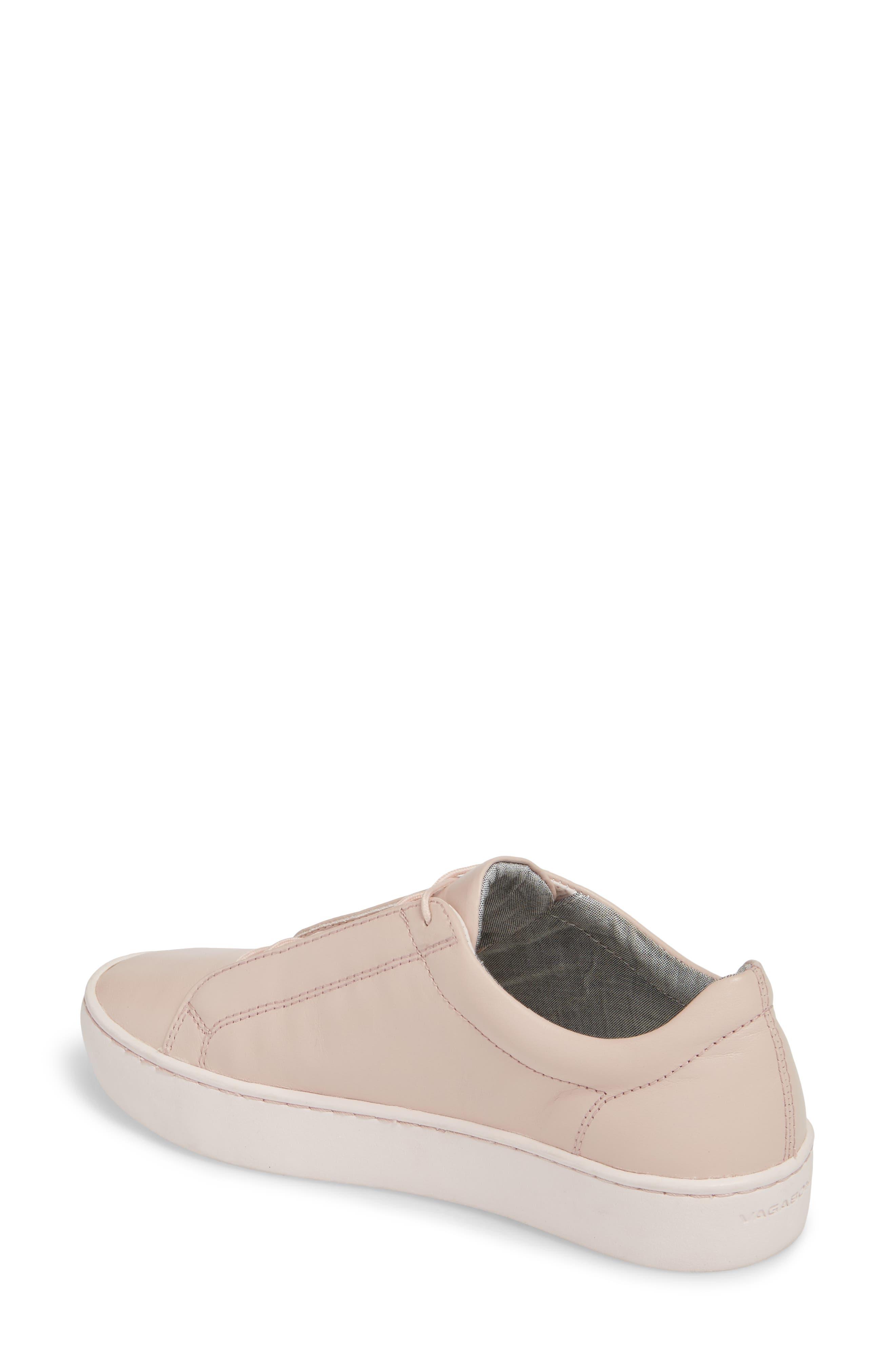 Zoe Sneaker,                             Alternate thumbnail 2, color,                             Milkshake Leather