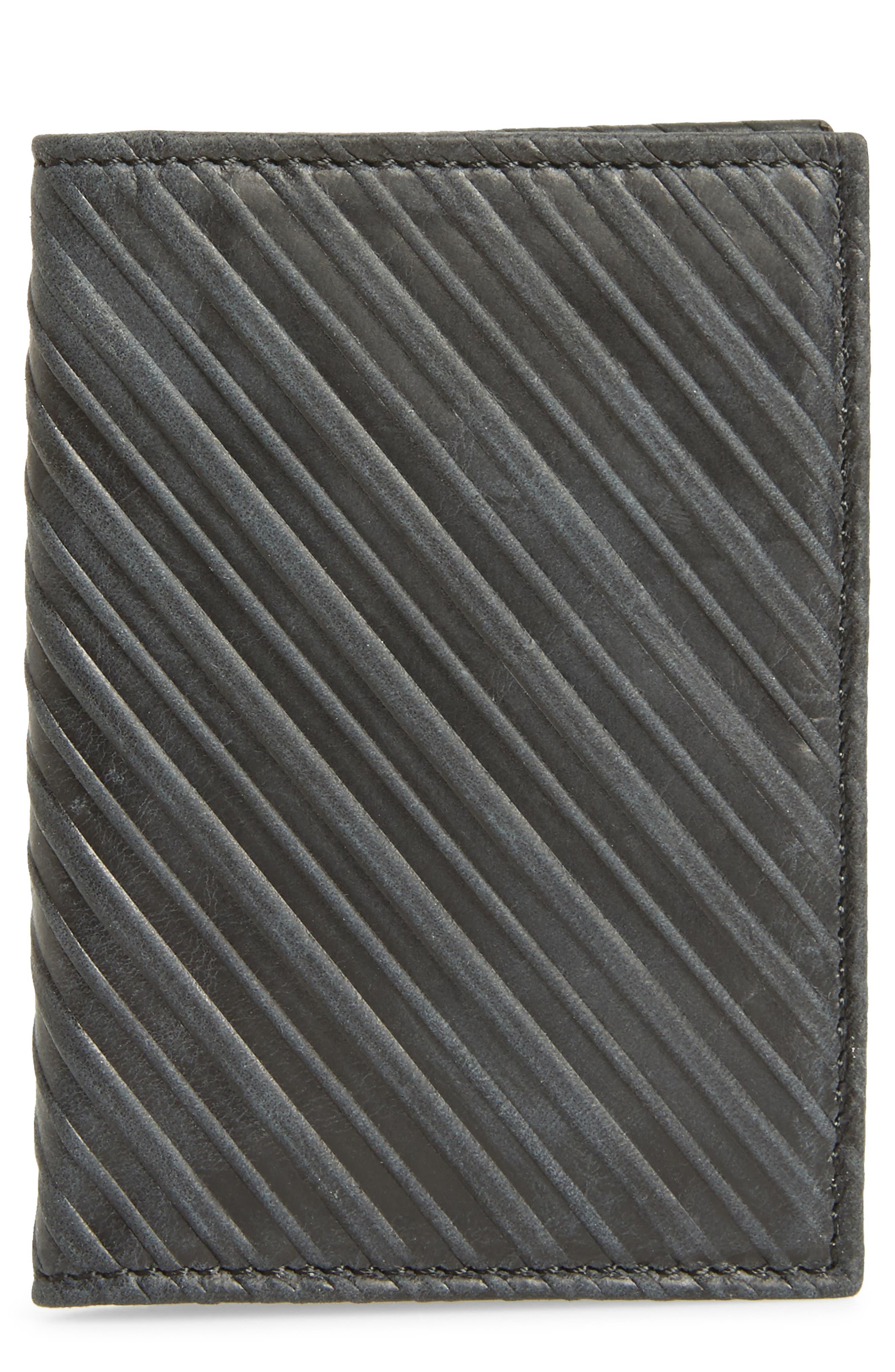Billy Reid Bifold Leather Card Case