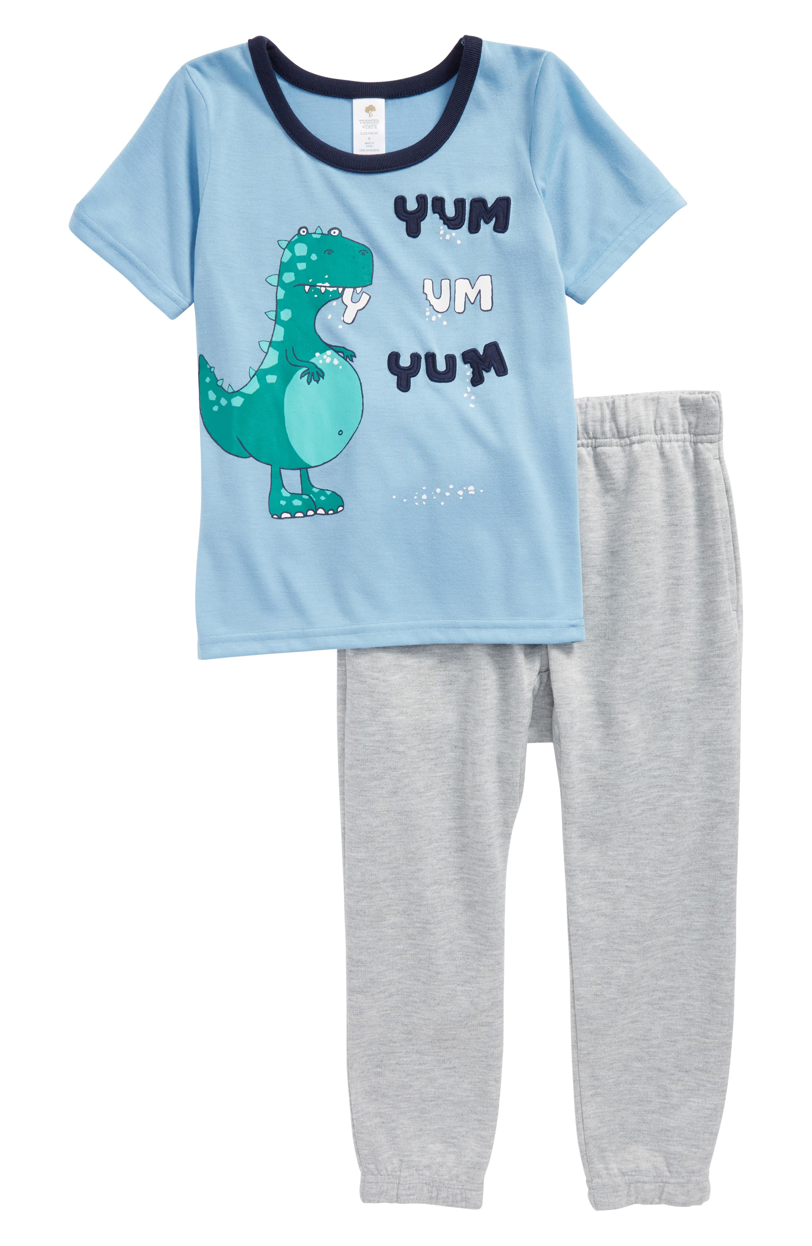 Tucker + Tate Yum Yum Two-Piece Pajamas (Toddler Boys, Little Boys & Big Boys)