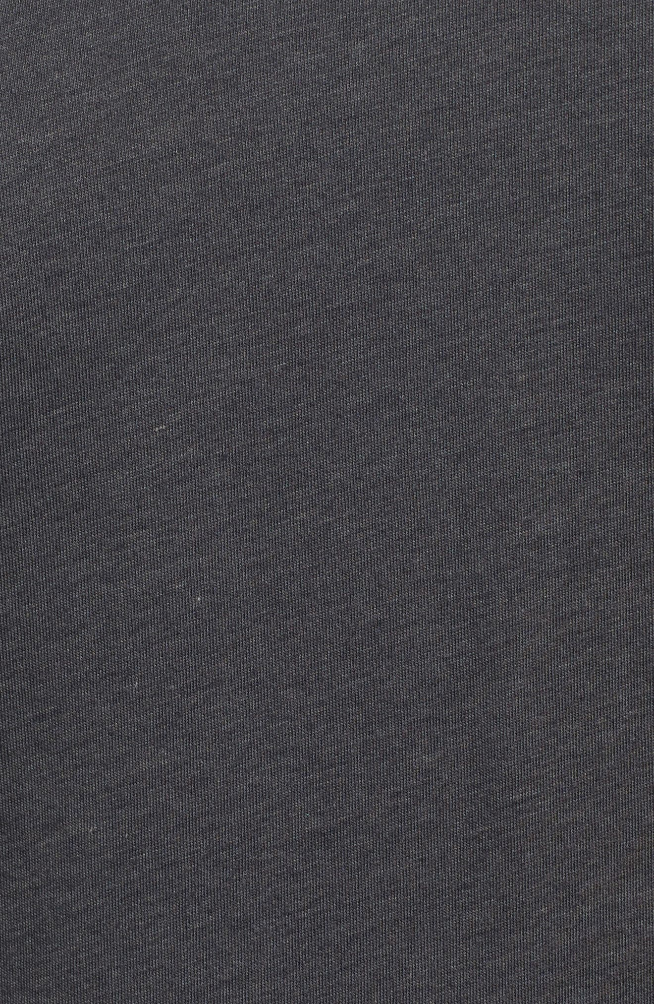 Training Dry Project X T-Shirt,                             Alternate thumbnail 5, color,                             Anthracite/ Black