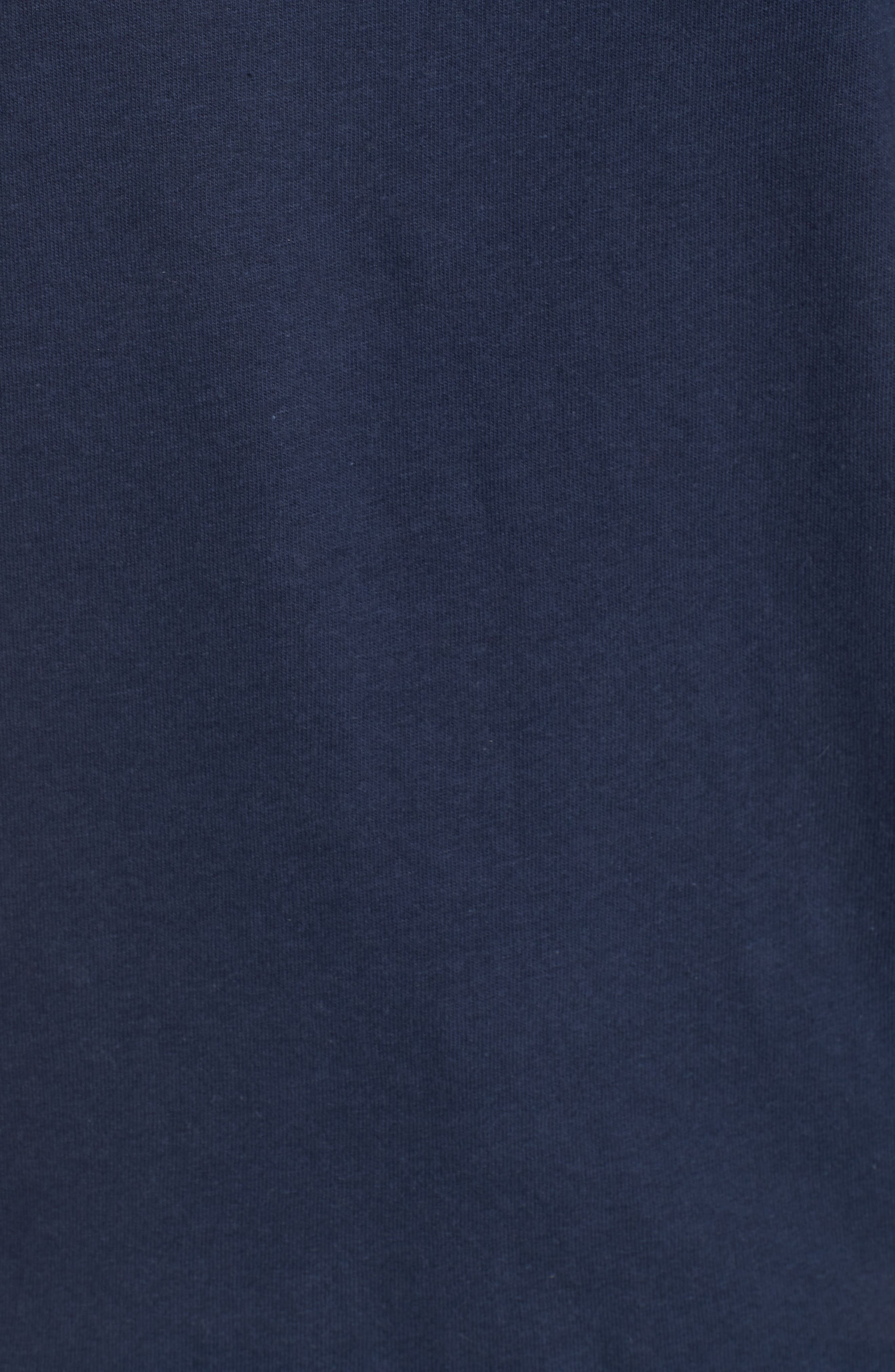 Poolside Graphic Tee,                             Alternate thumbnail 6, color,                             Navy