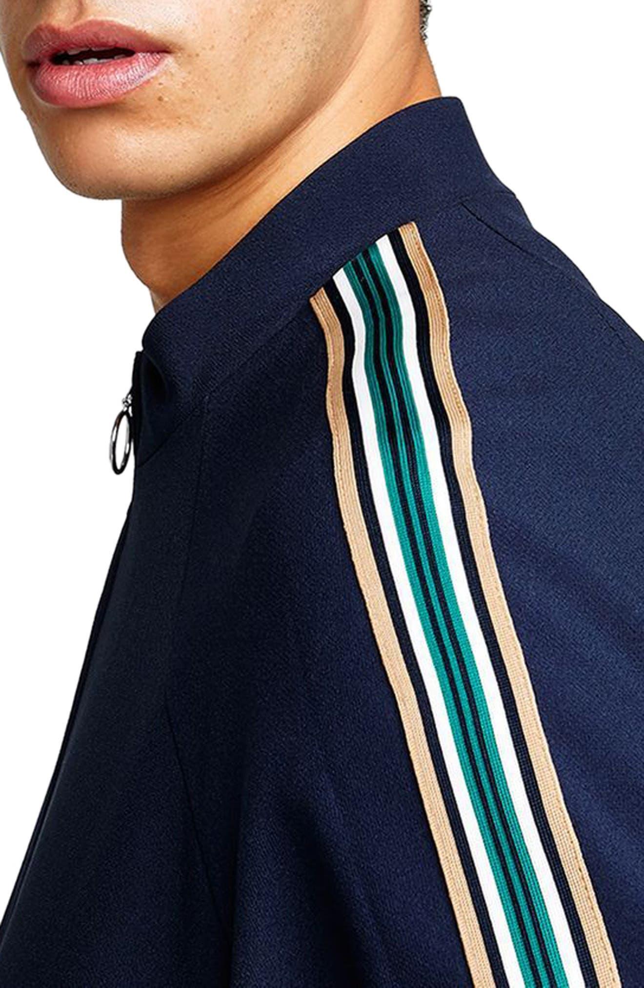 Track Jacket,                             Alternate thumbnail 3, color,                             Dark Blue Multi