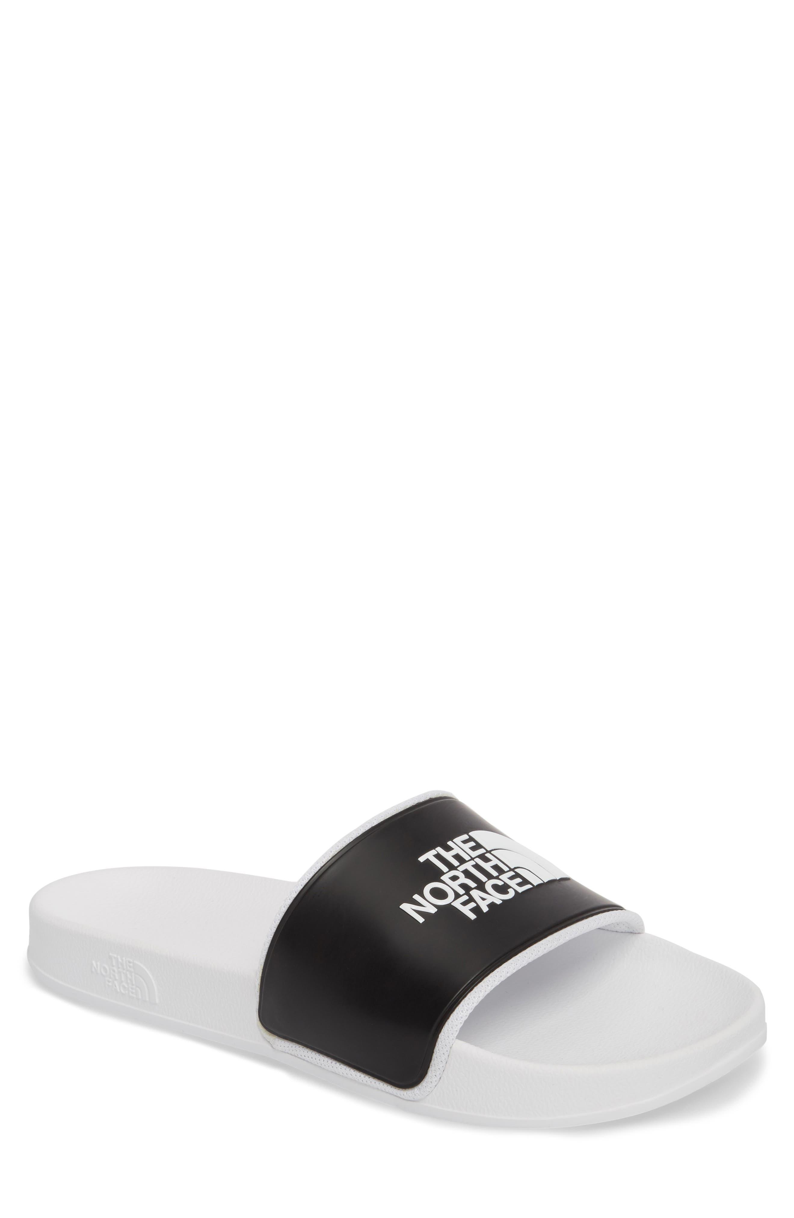 Base Camp II Slide Sandal,                         Main,                         color, Tnf White/ Tnf Black