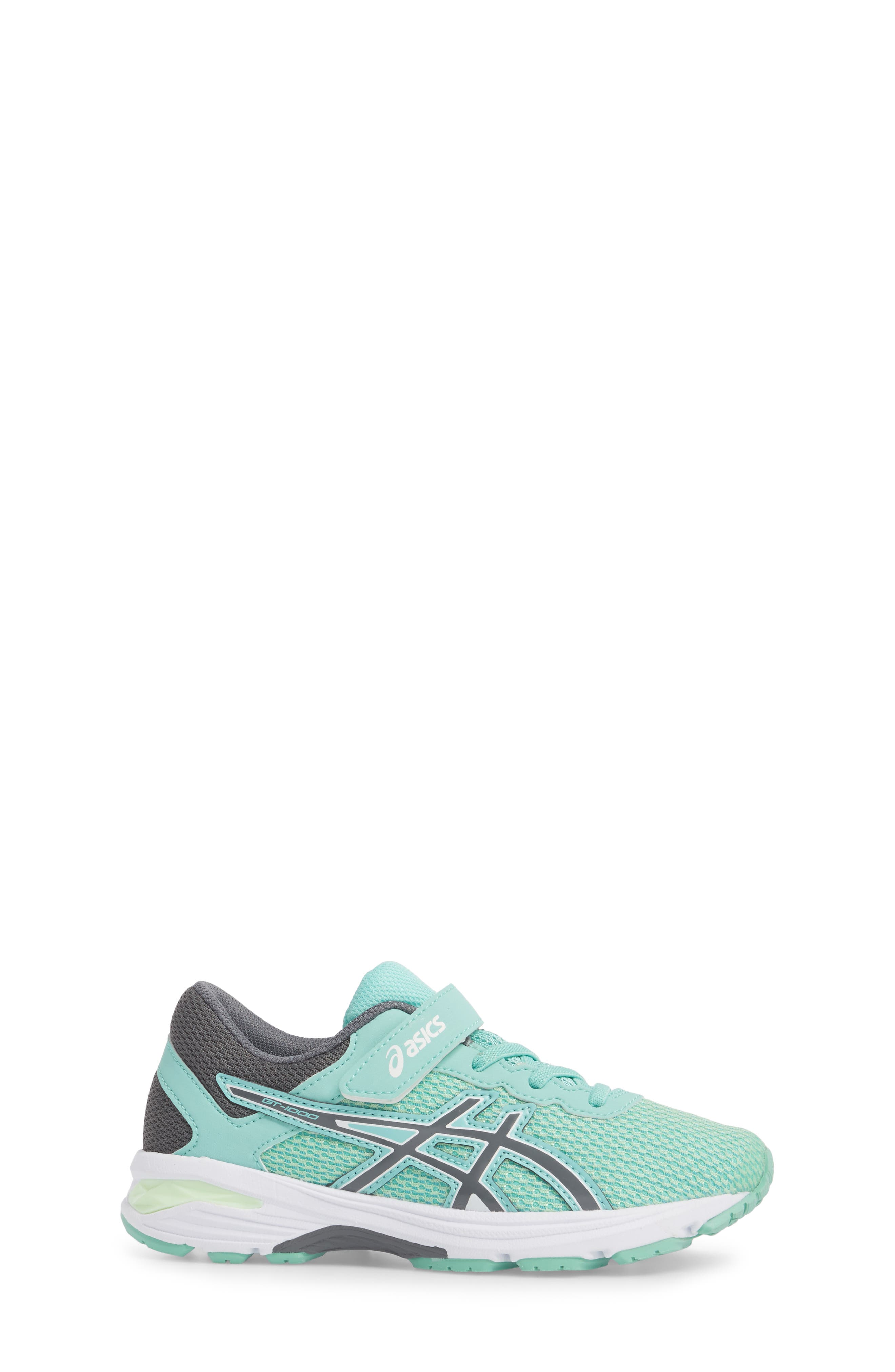 Asics GT-1000<sup>™</sup> 6 PS Sneaker,                             Alternate thumbnail 3, color,                             Carbon/ Opal Green