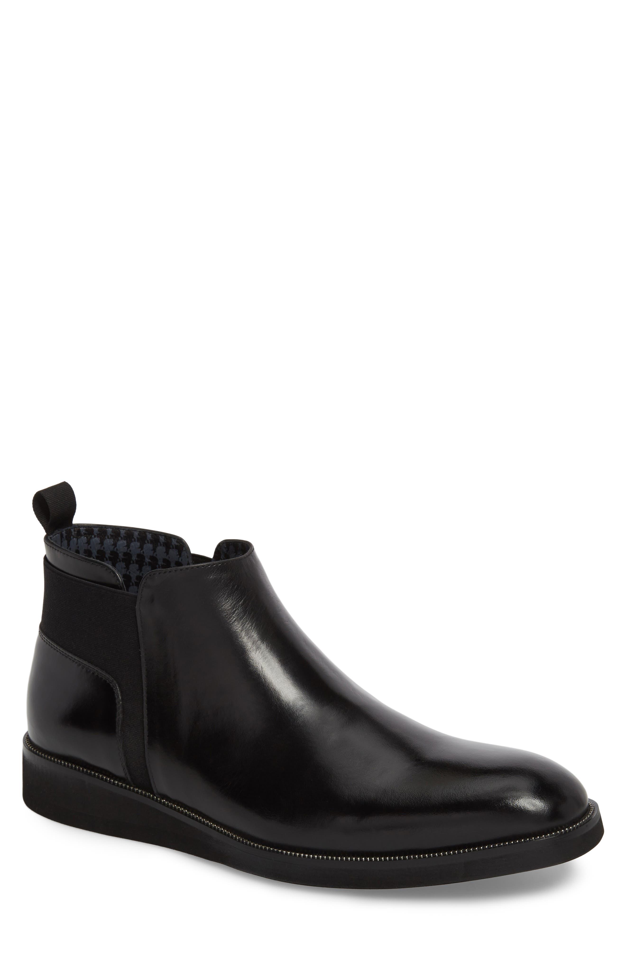 Karl Lagerfeld Paris Chelsea Boot (Men)