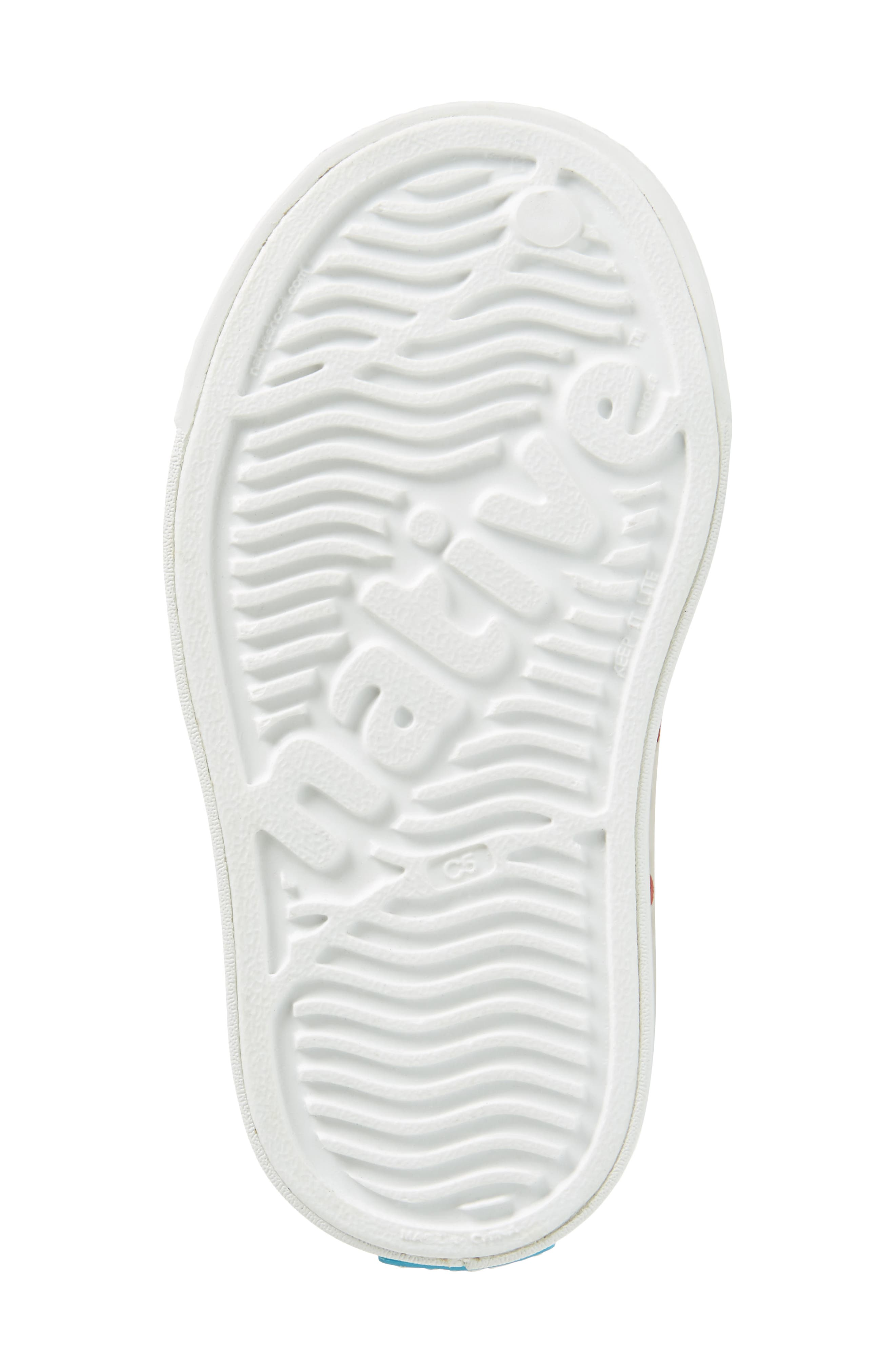 Native Juniper Print Perforated Mary Jane,                             Alternate thumbnail 6, color,                             Shell White/ Torch Blue Heart