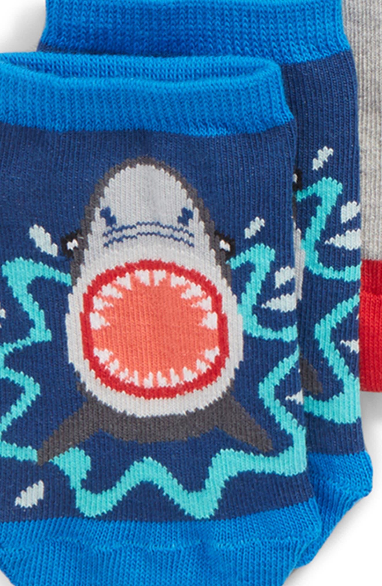 Alternate Image 2  - Tucker + Tate 6-Pack Assorted Low Cut Socks (Little Kid & Big Kid)