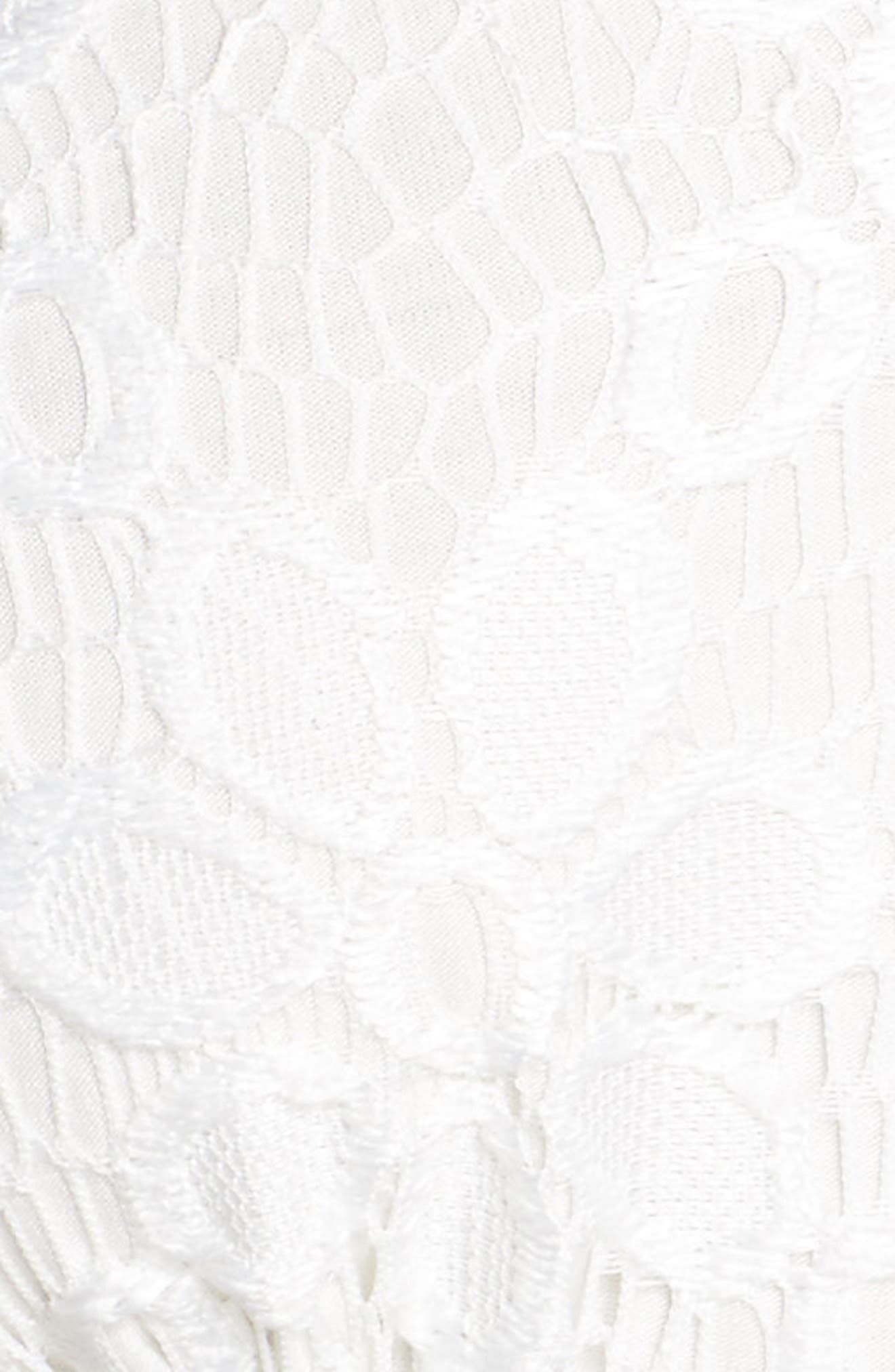 Intimately FP Aria Longline Bralette,                             Alternate thumbnail 7, color,                             White