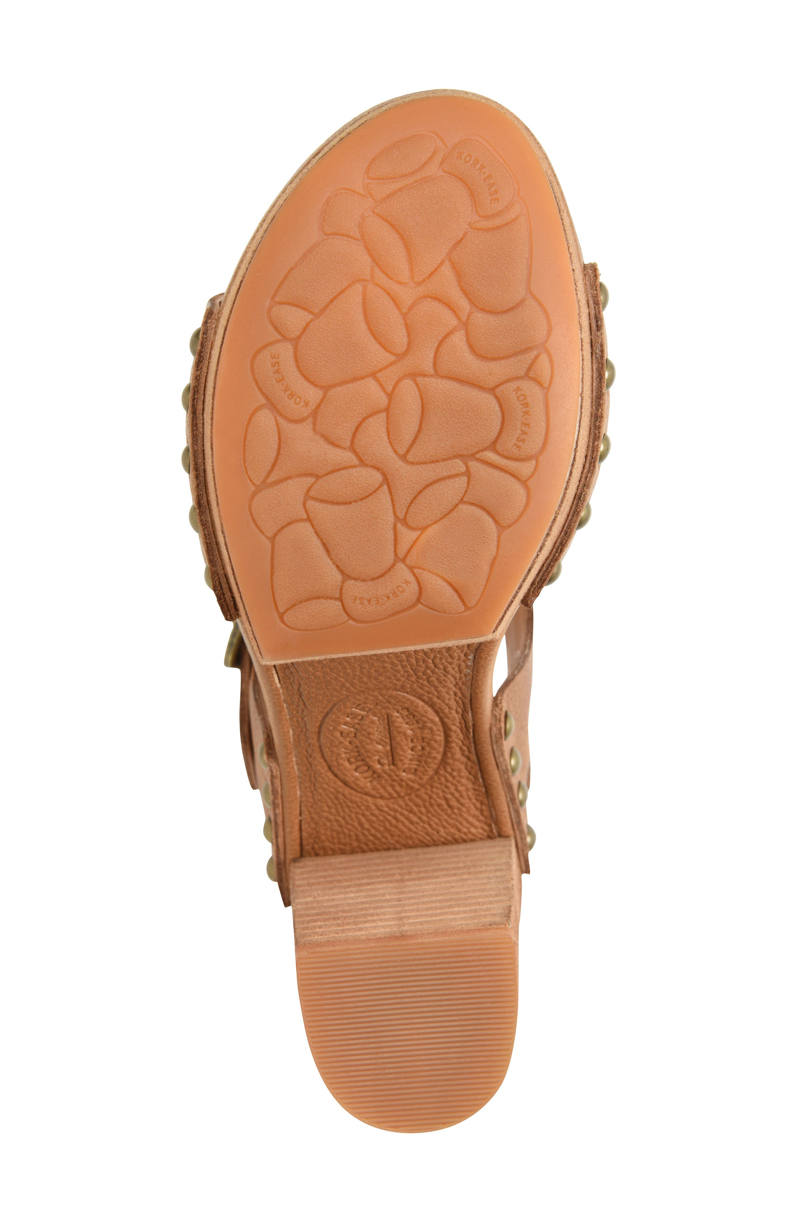 Pasilla Platform Sandal,                             Alternate thumbnail 6, color,                             Light Brown Leather