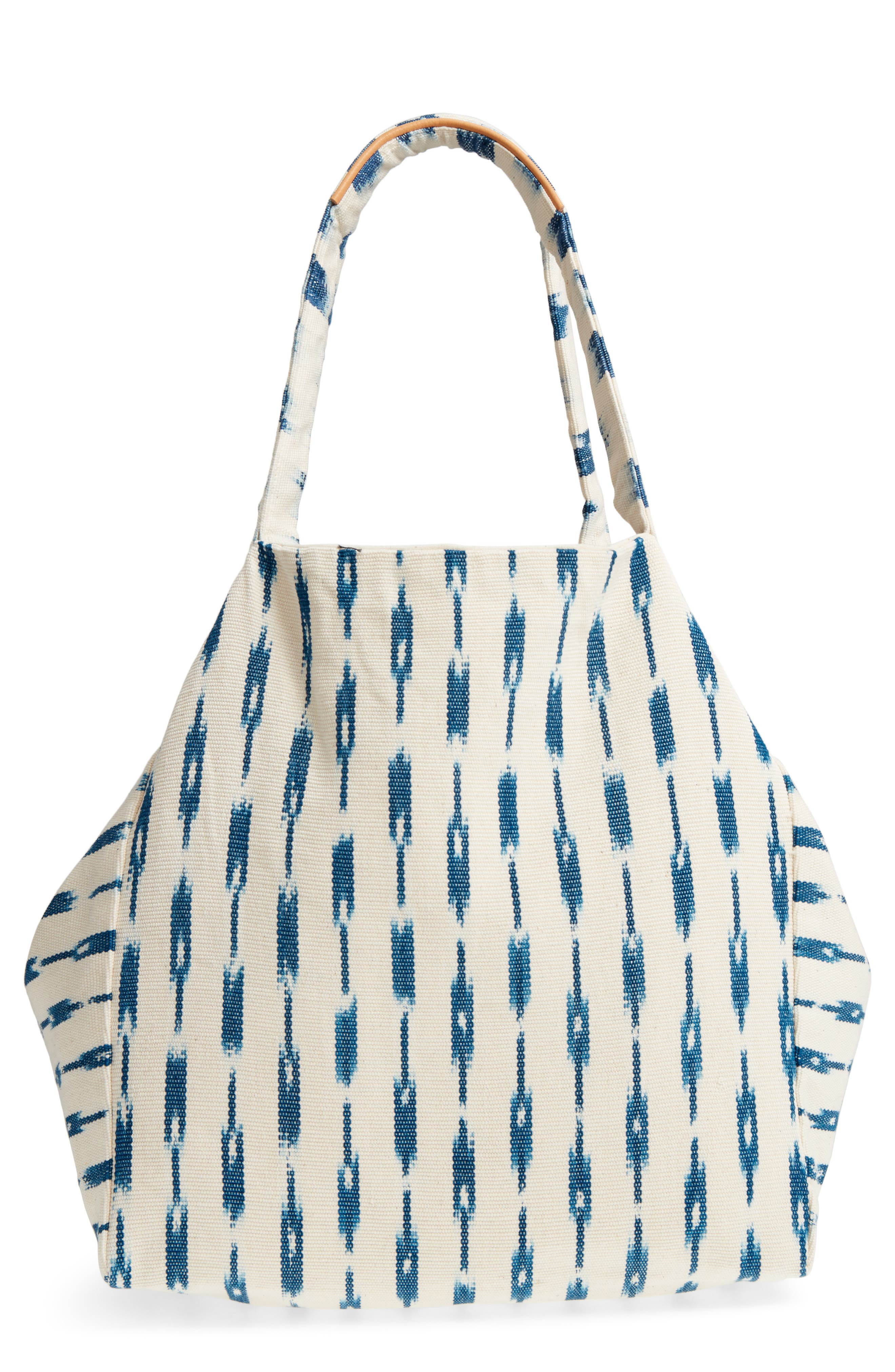 Main Image - Mercado Global Rosa Woven Tote