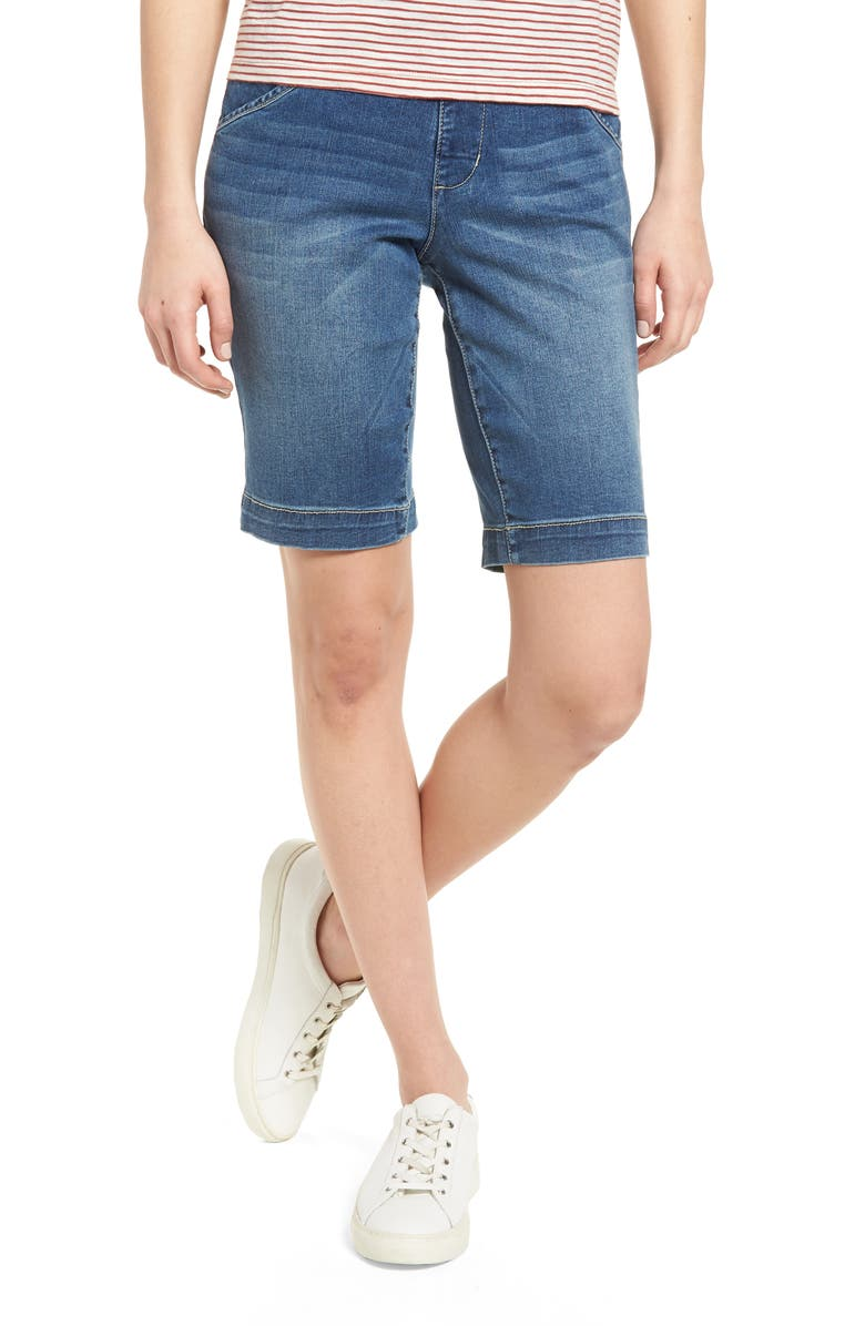 Ainsley Bermuda Jean Shorts