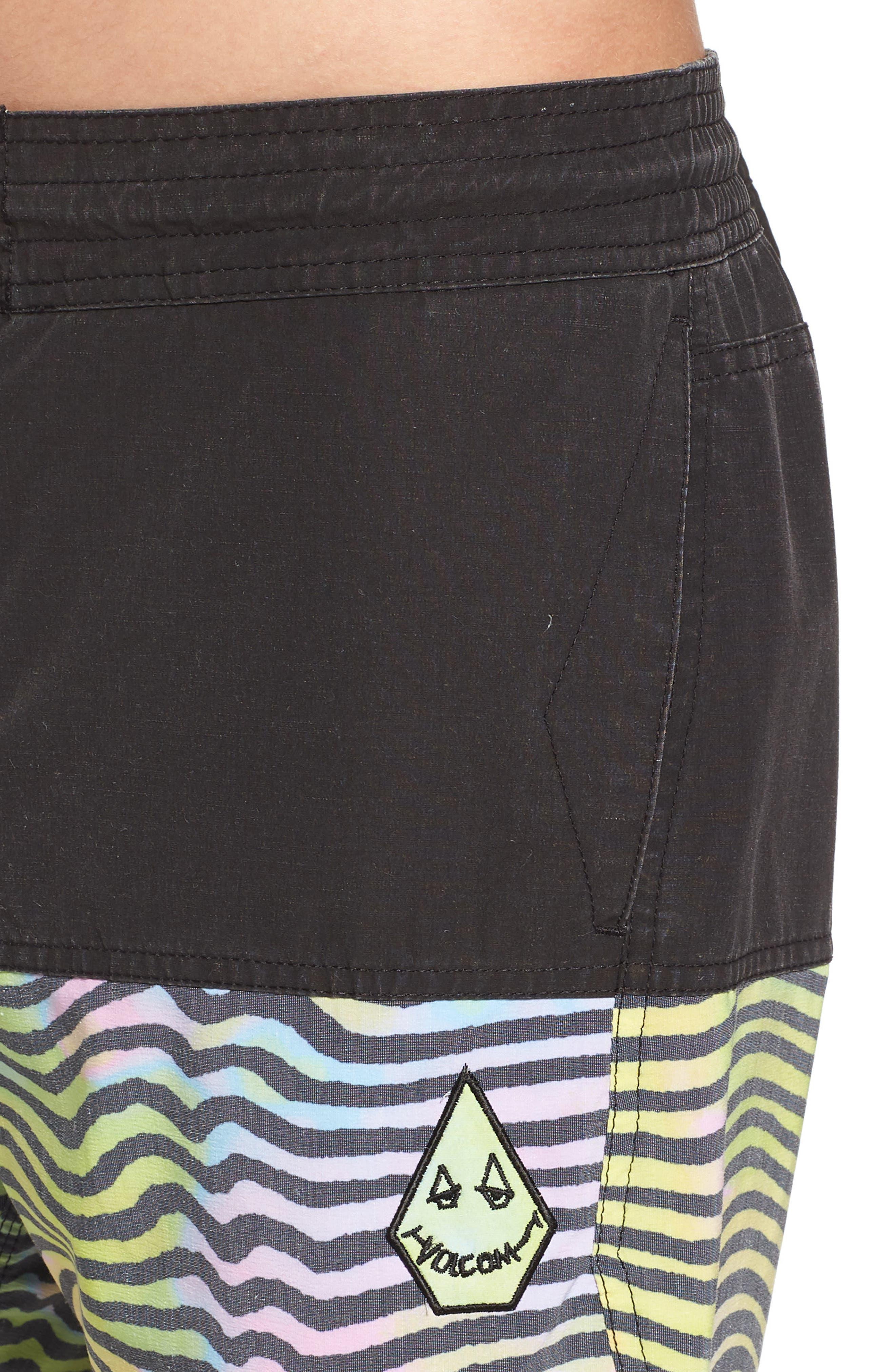Vibes Half Stoney Board Shorts,                             Alternate thumbnail 4, color,                             Multi
