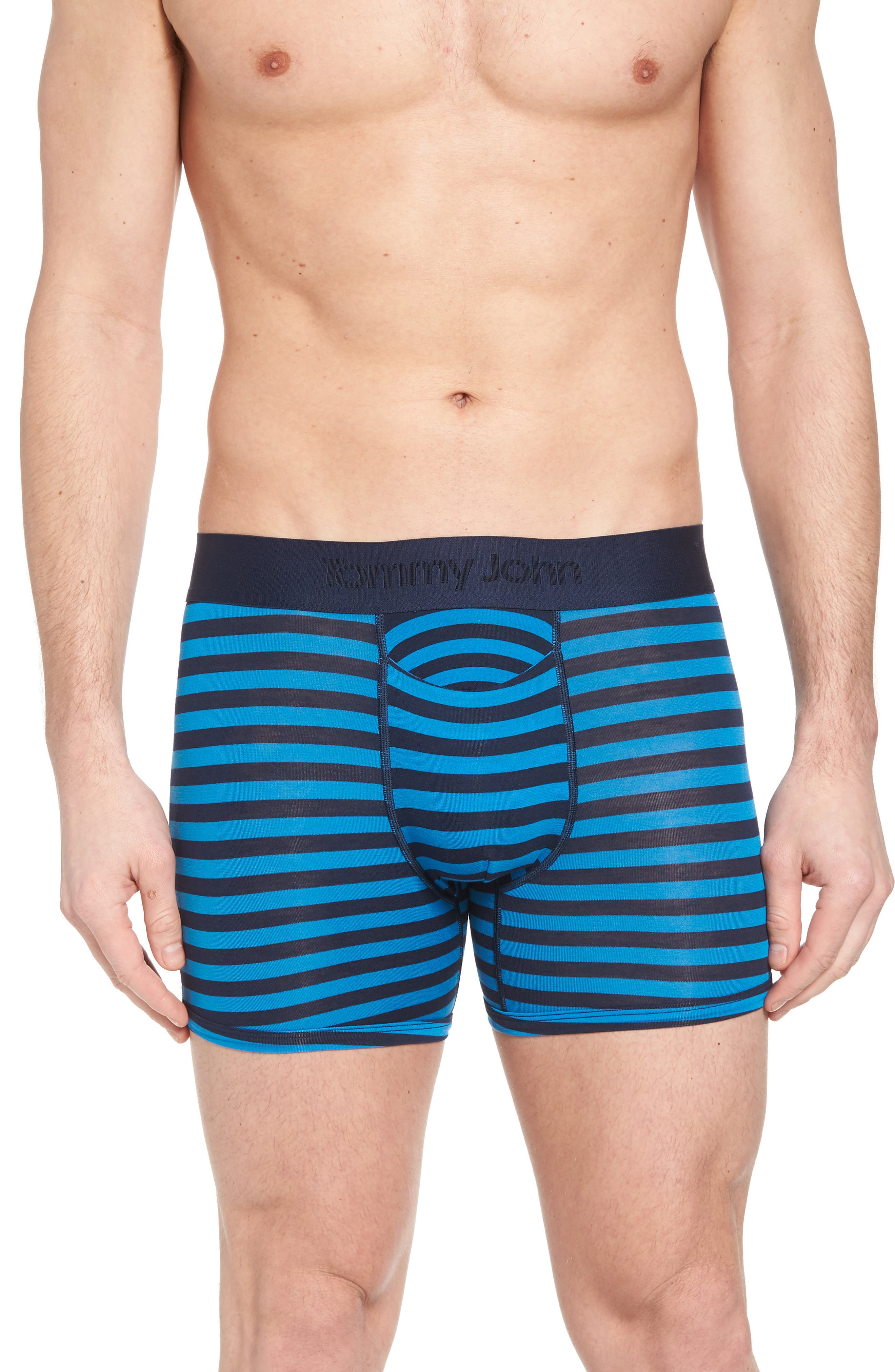 Second Skin Trunks,                         Main,                         color, Dress Blues/ New Blue