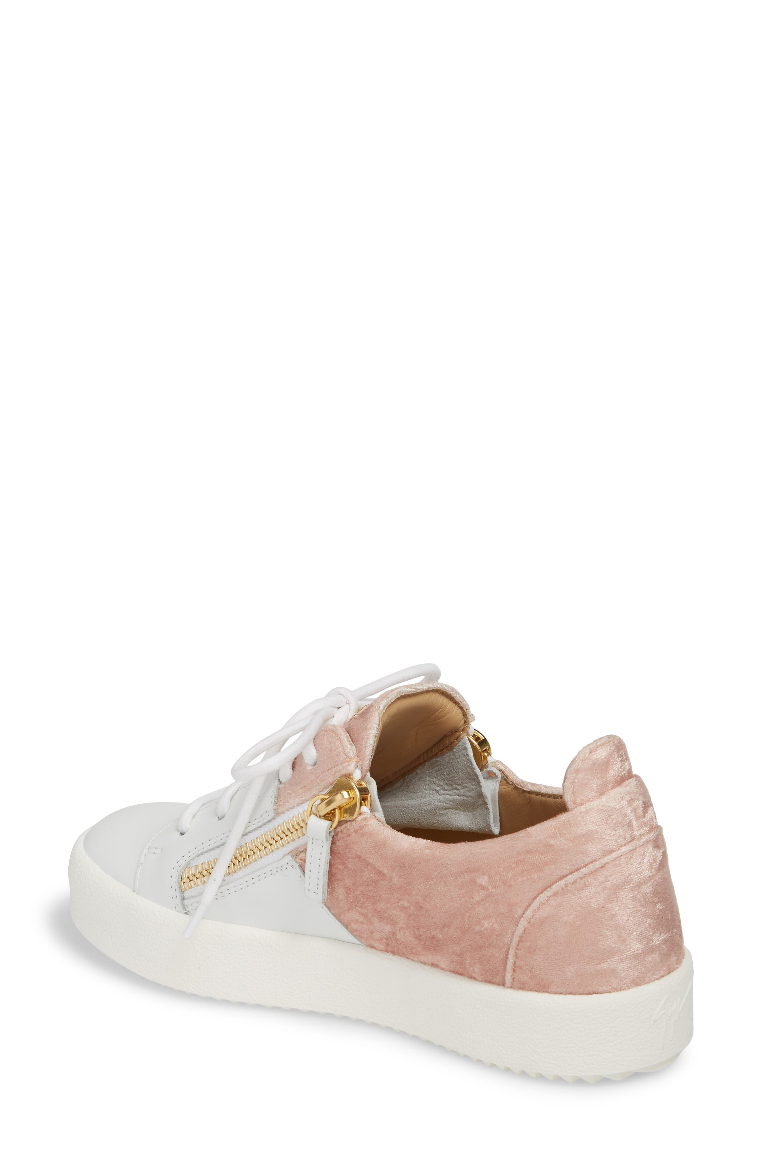 Alternate Image 2  - Giuseppe Zanotti Mid Top Platform Sneaker (Women)