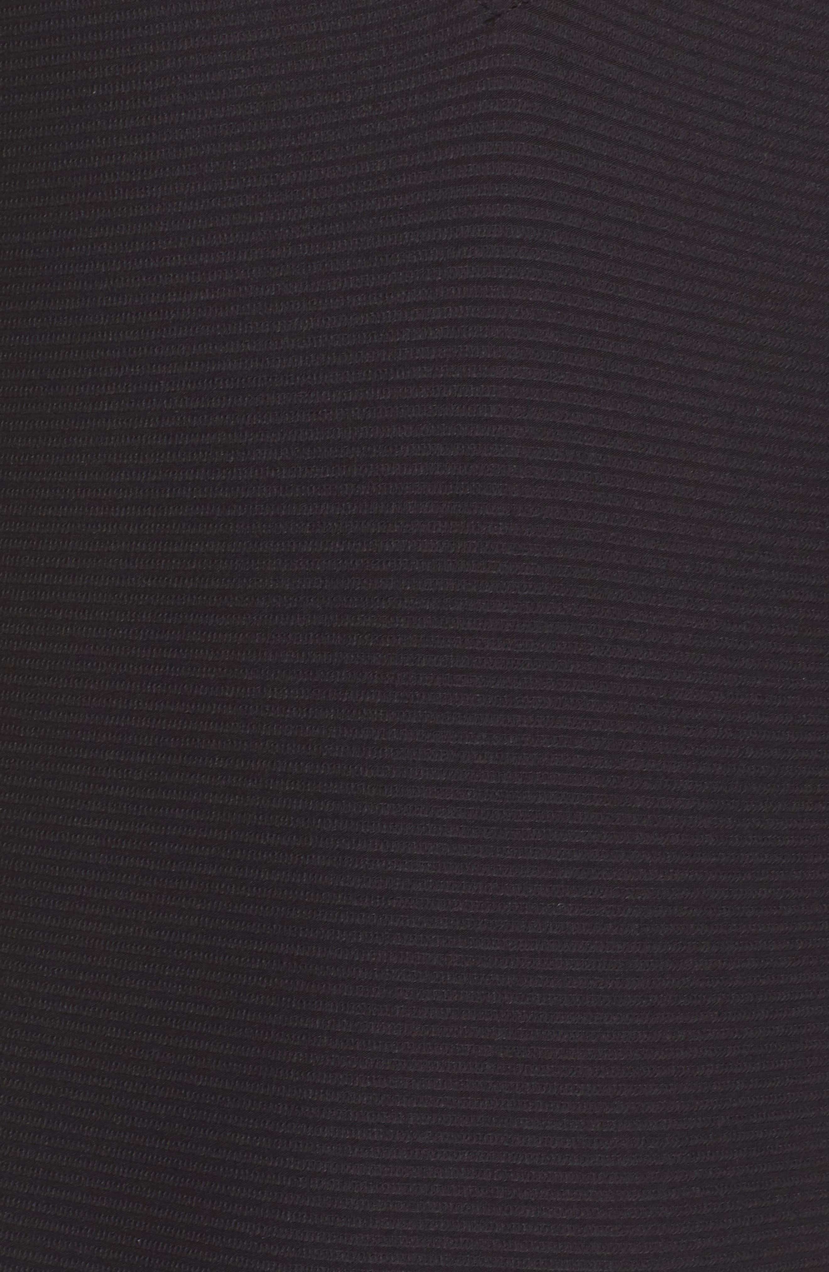Tanlines One-Piece Swimsuit,                             Alternate thumbnail 5, color,                             Black Sands