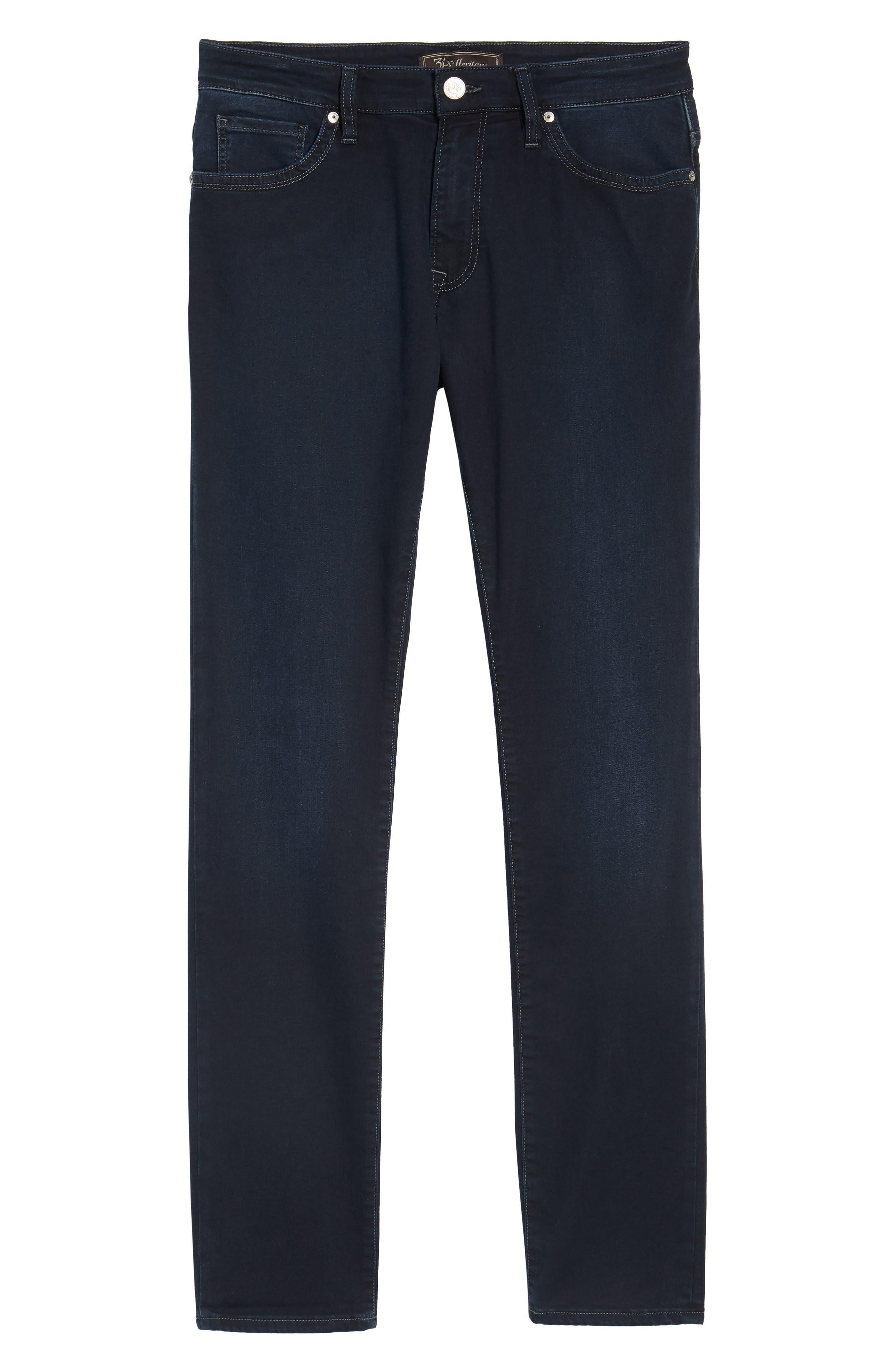 Cool Slim Straight Leg Jeans,                             Alternate thumbnail 6, color,                             Midnight Austin