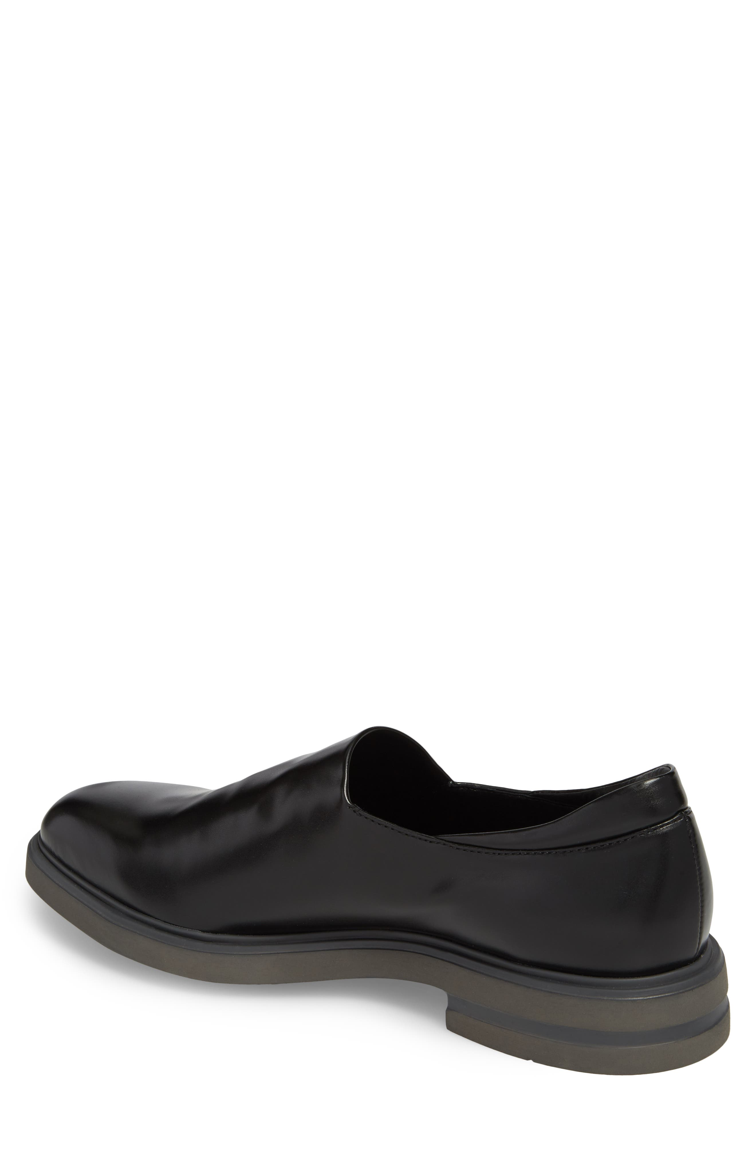 Eliam Venetian Loafer,                             Alternate thumbnail 2, color,                             Black Leather