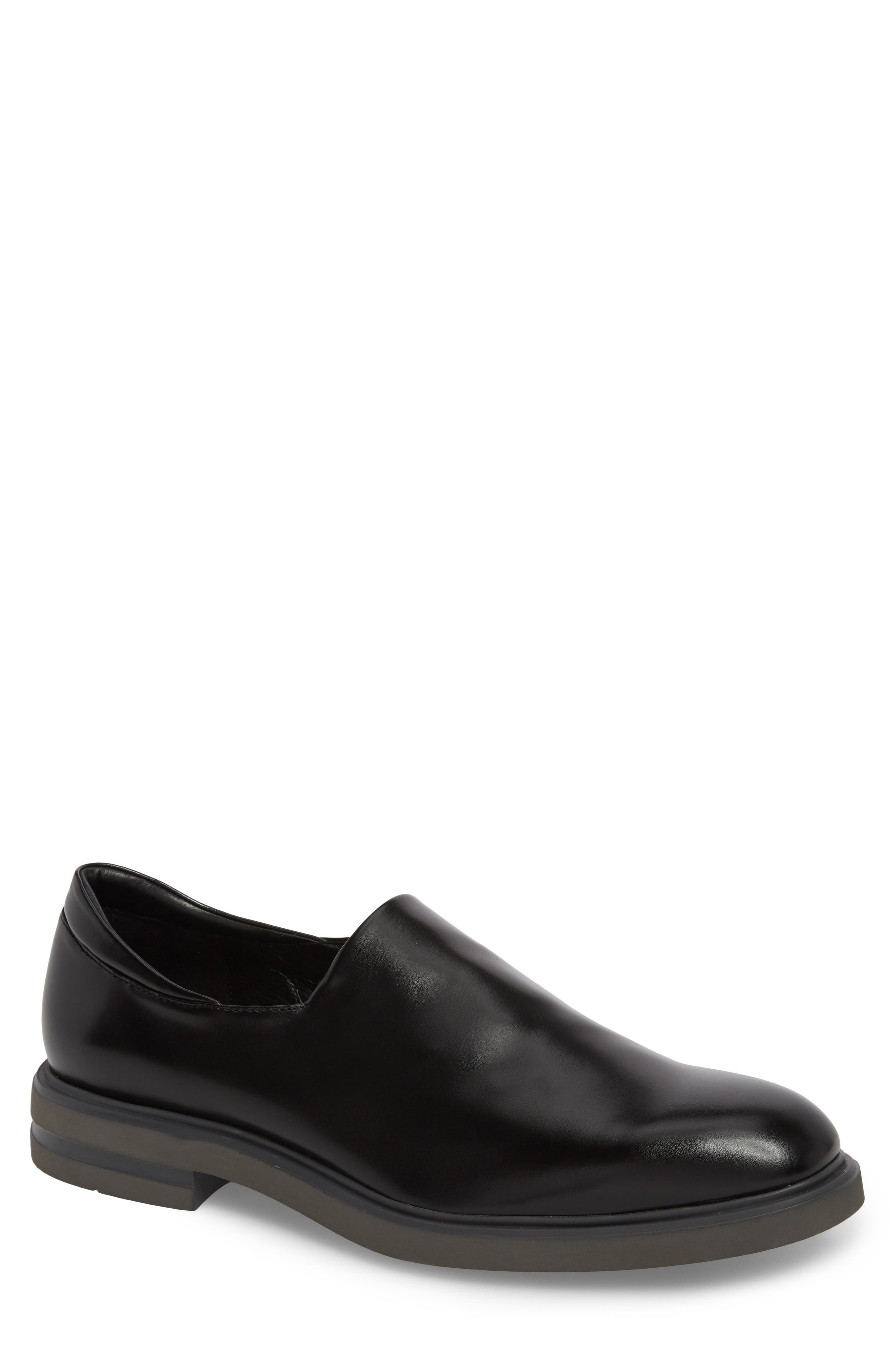 Eliam Venetian Loafer,                             Main thumbnail 1, color,                             Black Leather