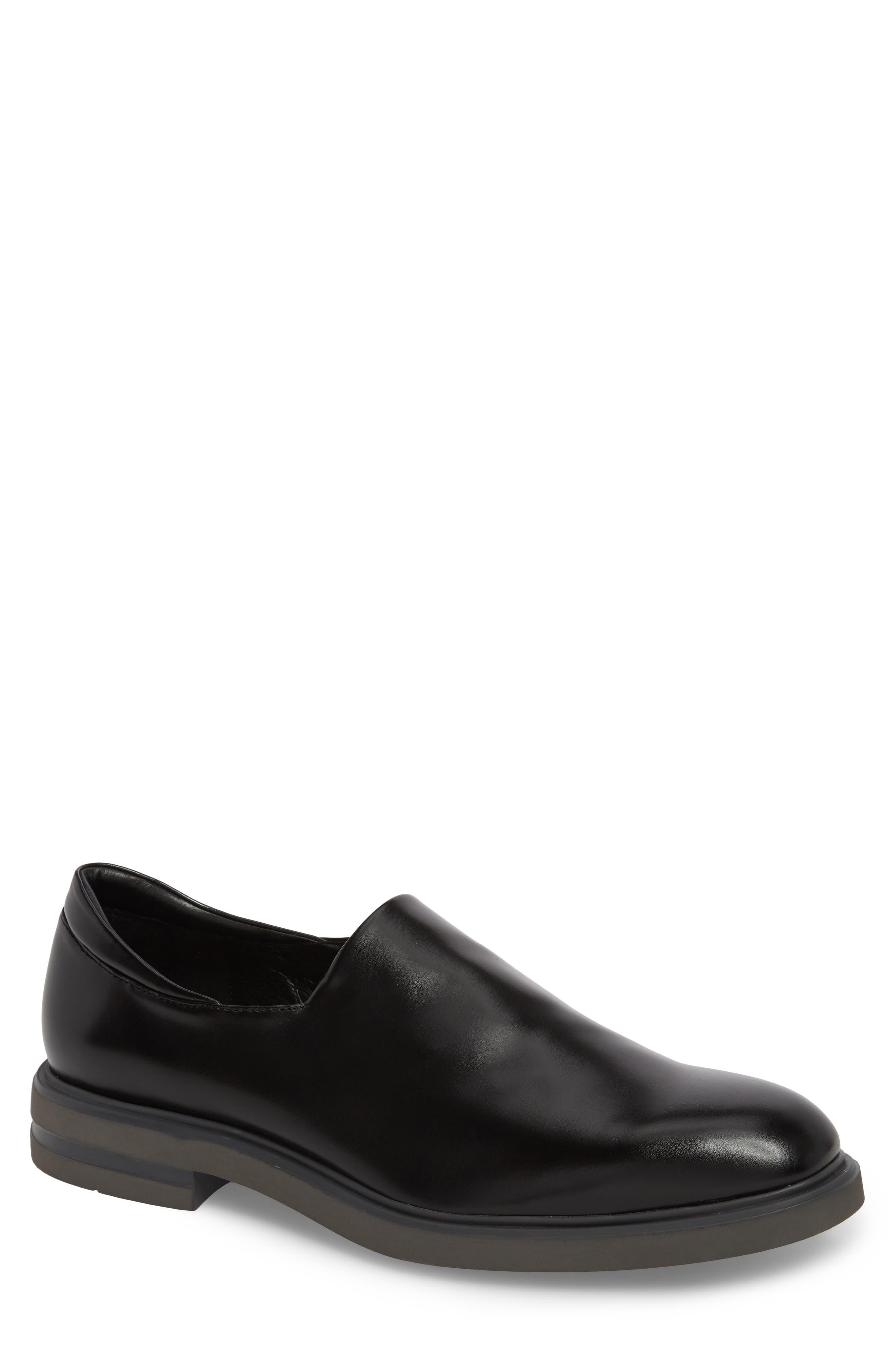 Eliam Venetian Loafer,                         Main,                         color, Black Leather