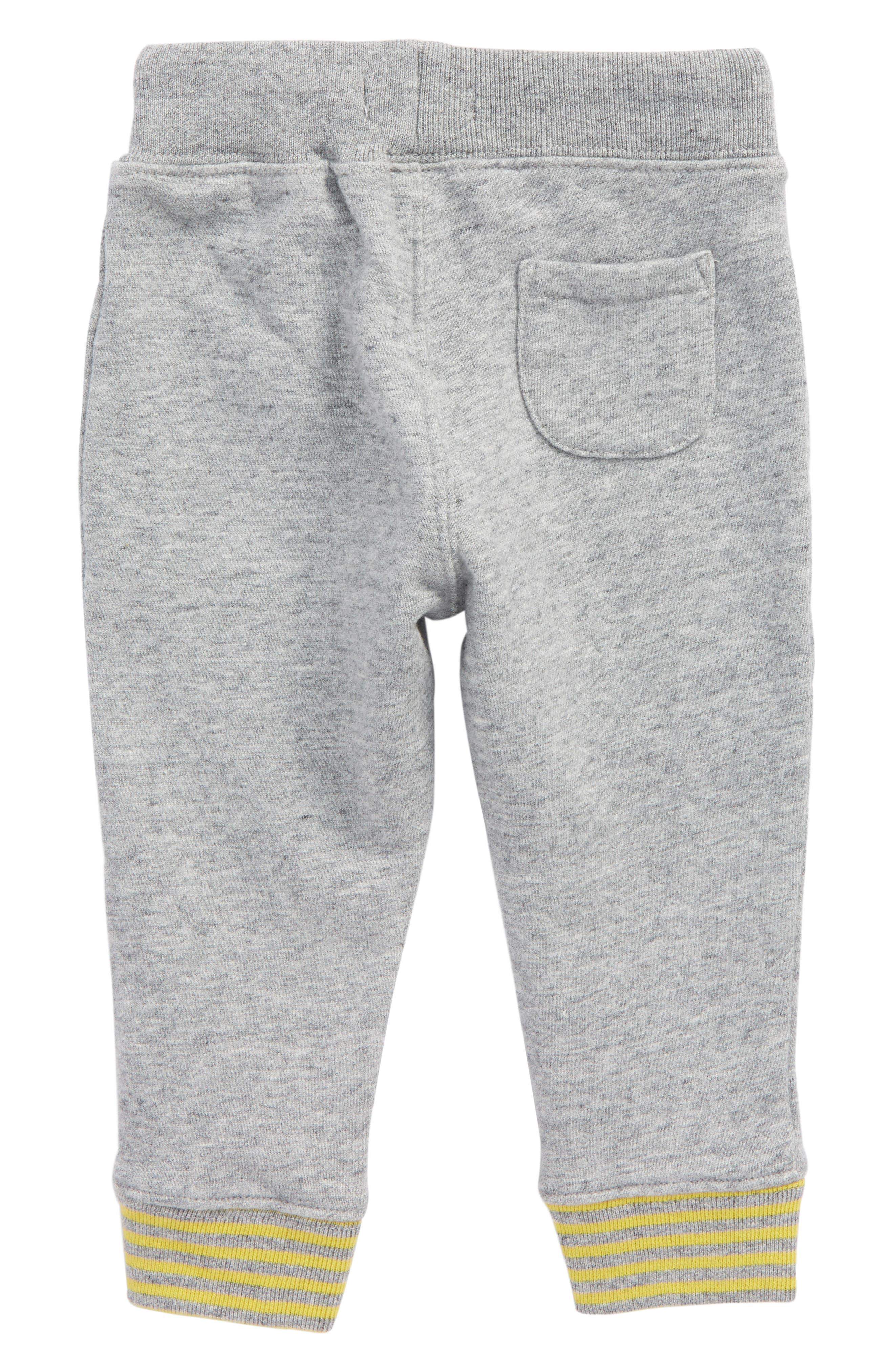 Essential Jersey Jogger Pants,                             Alternate thumbnail 2, color,                             Grey Marl