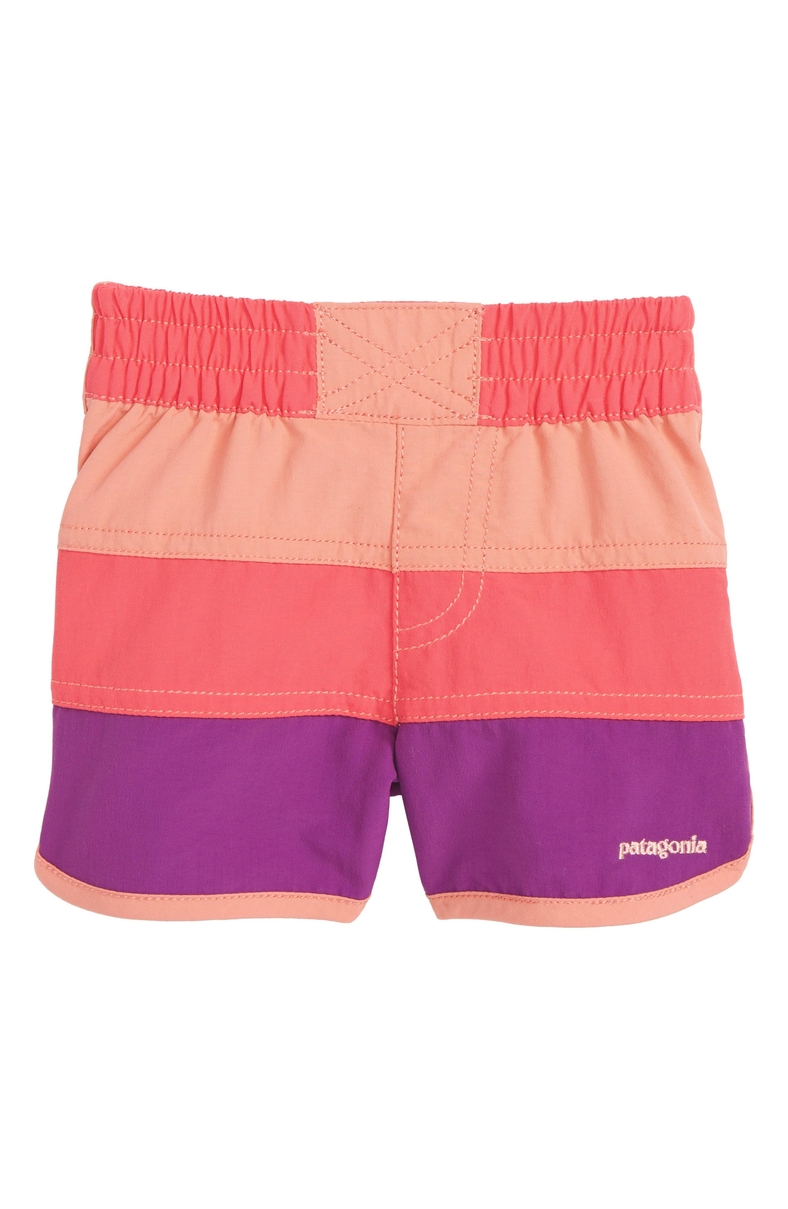 Board Shorts,                         Main,                         color, Srap Sierra Pink