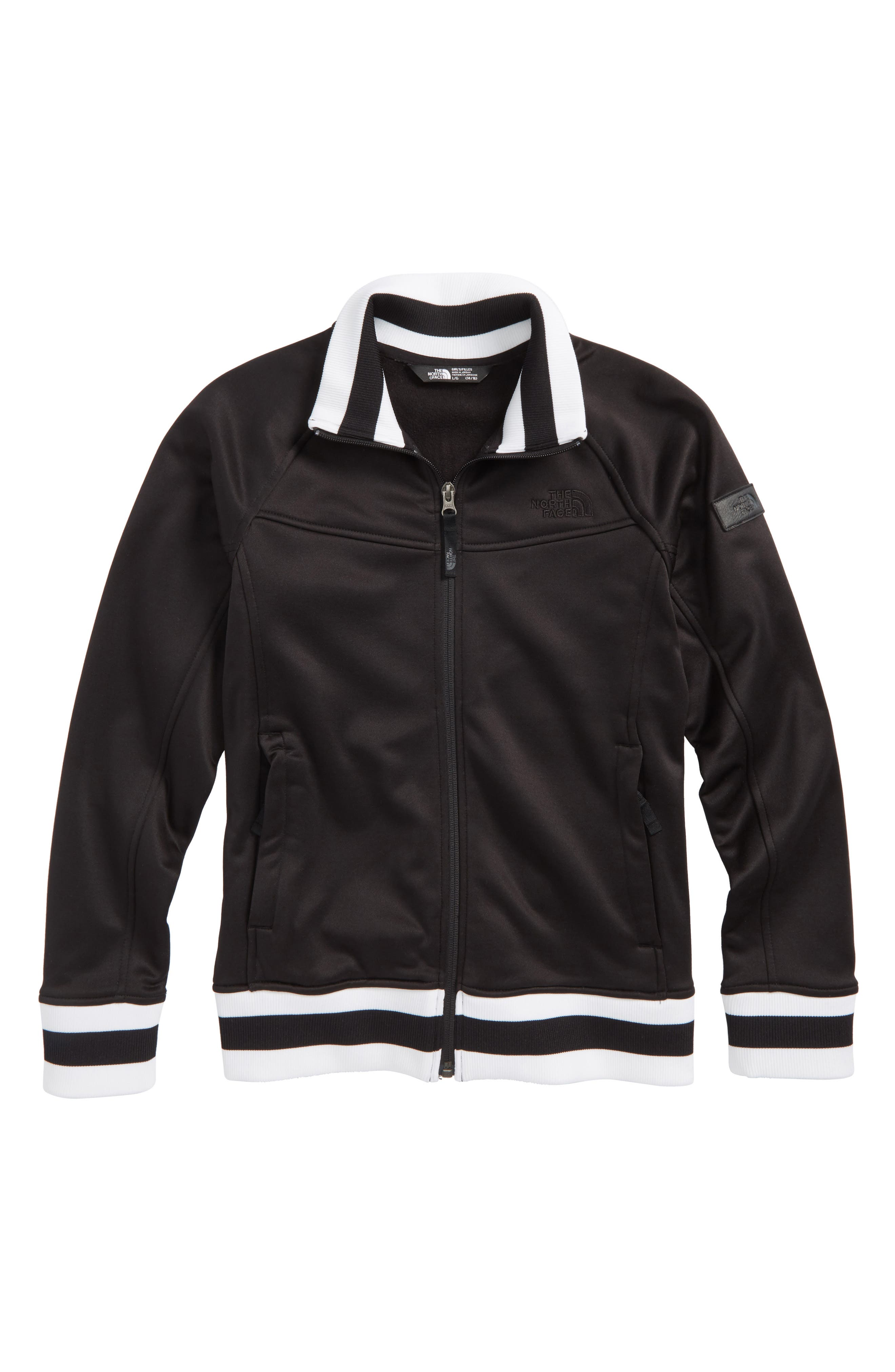 Takeback Track Jacket,                             Main thumbnail 1, color,                             Black