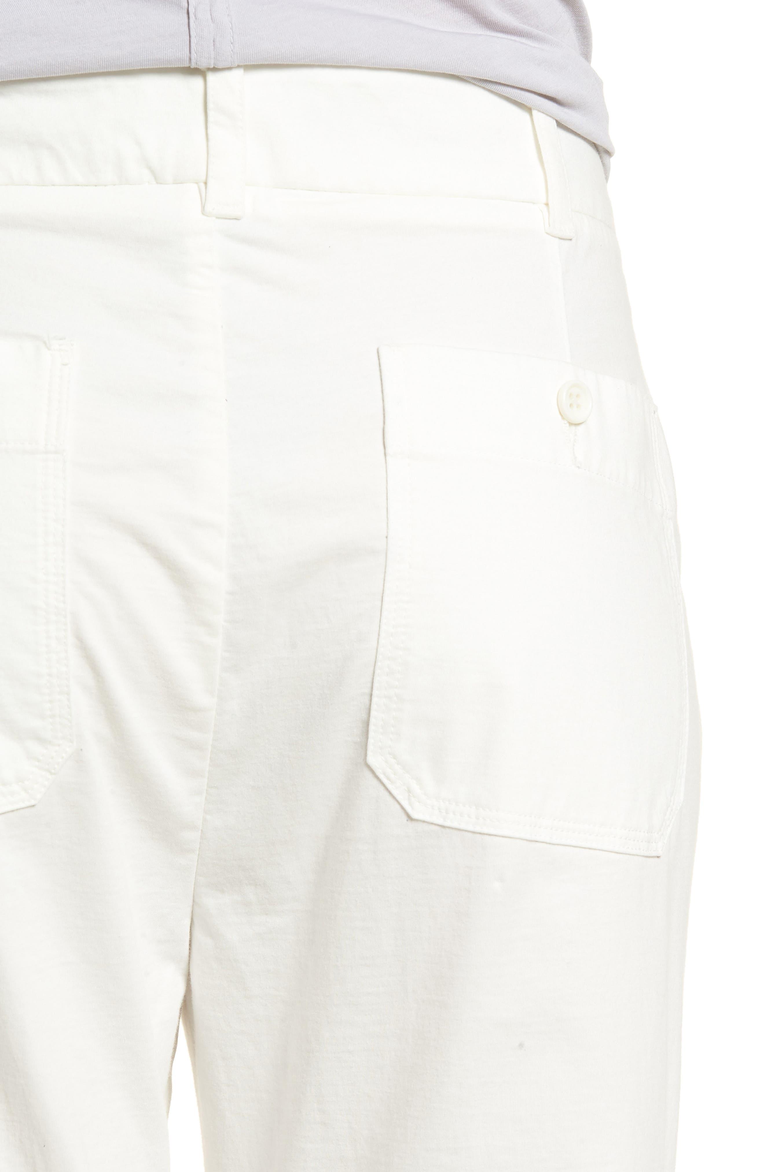 Full Surplus Jersey Pants,                             Alternate thumbnail 4, color,                             White