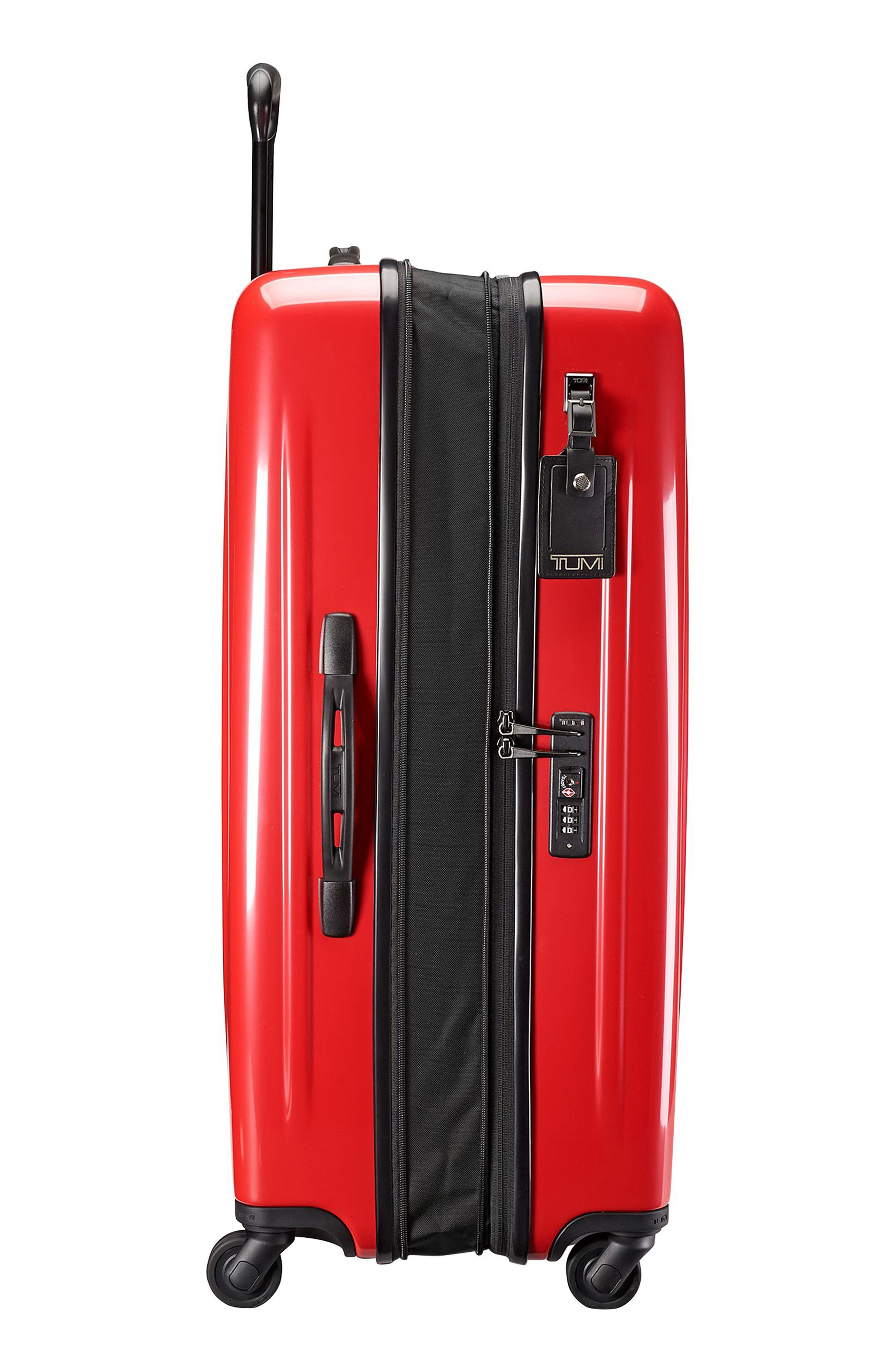 Extended Trip Expandable Wheeled 31-Inch Packing Case,                             Alternate thumbnail 5, color,                             Hot Pink