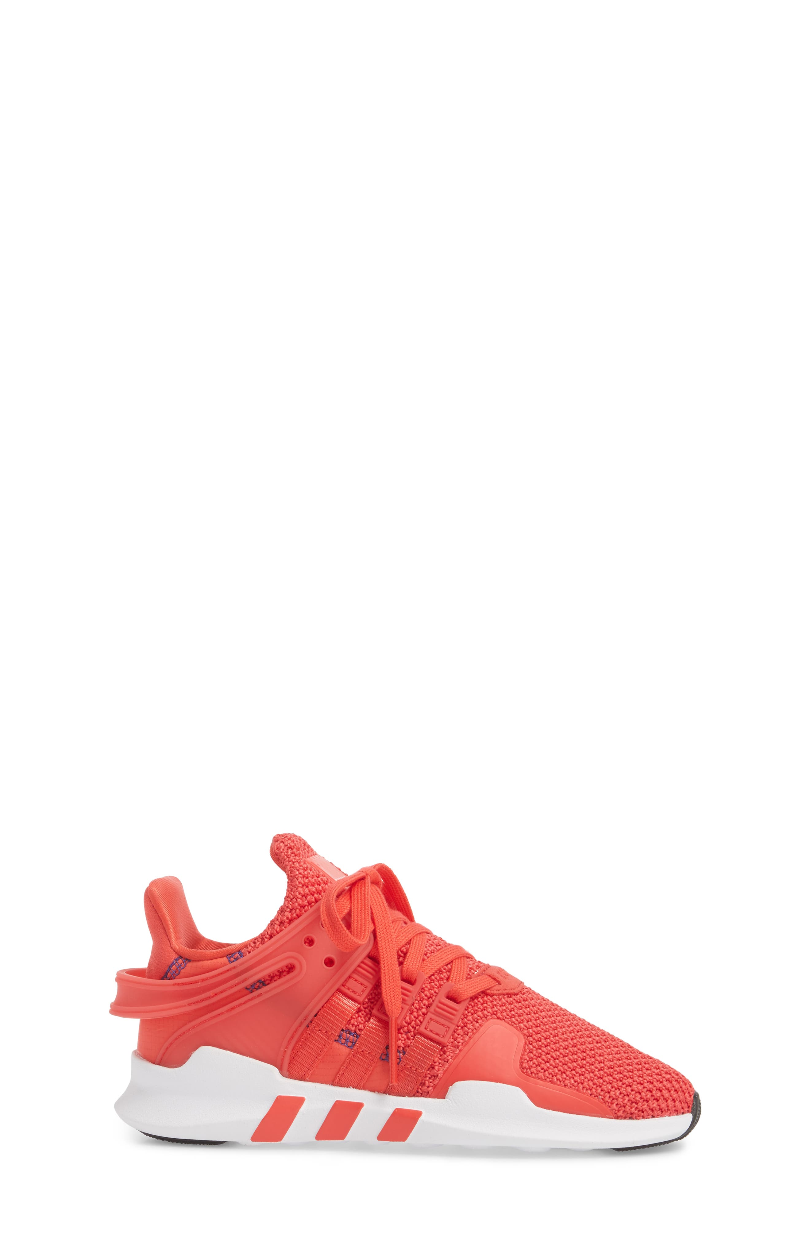EQT Support Adv Sneaker,                             Alternate thumbnail 3, color,                             Coral White