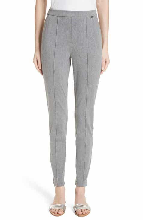 St. John Collection Denim Ponte Crop Leggings by ST. JOHN COLLECTION