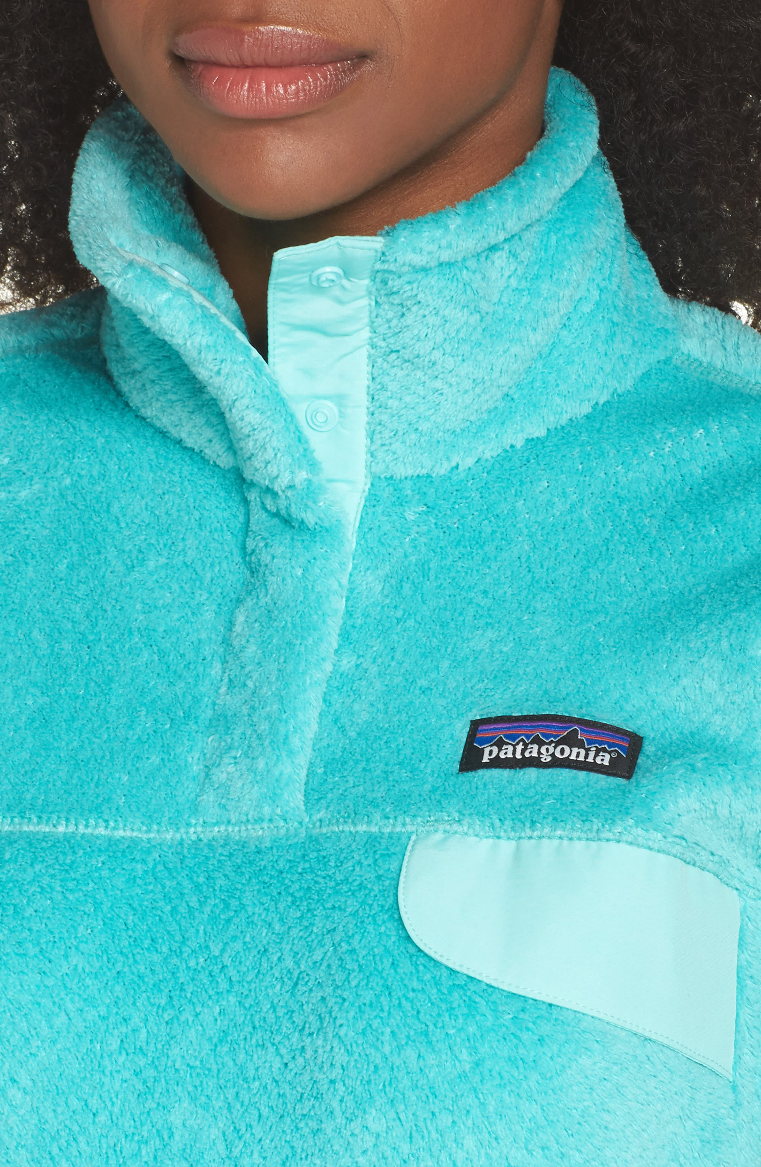 Alternate Image 4  - Patagonia Re-Tool Snap-T® Fleece Pullover