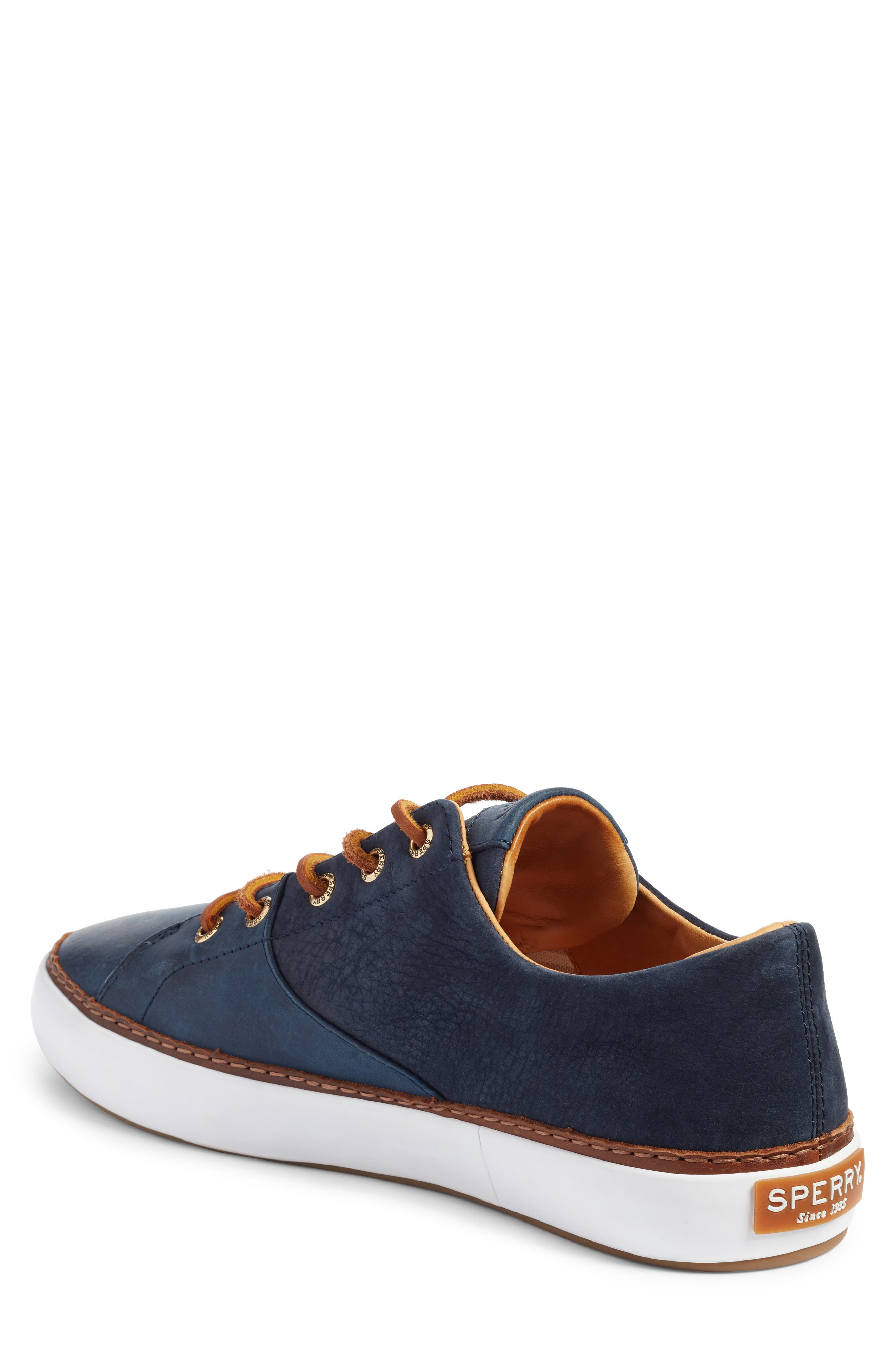 Gold Cup Haven Sneaker,                             Alternate thumbnail 2, color,                             Navy Leather