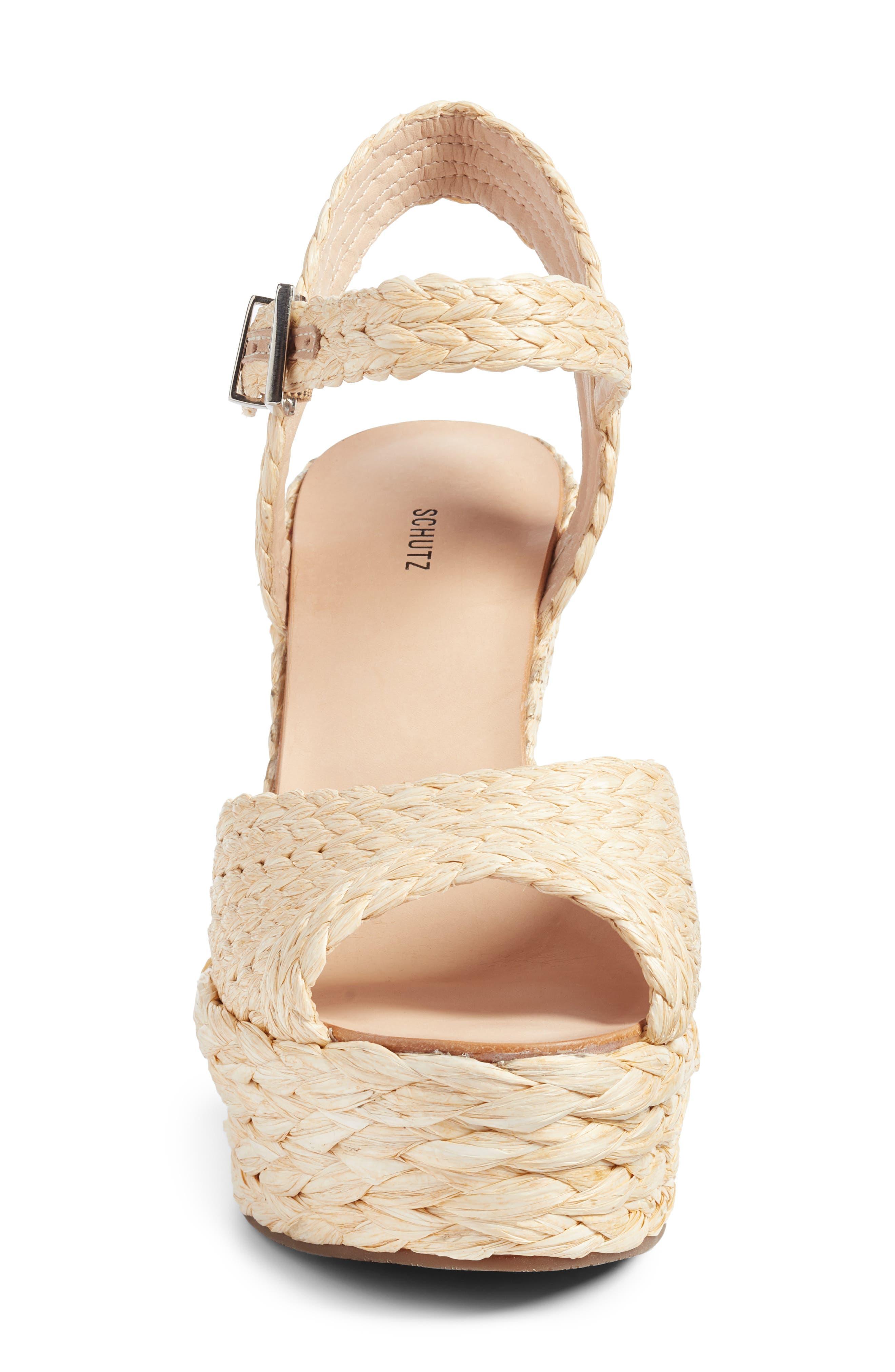 Alternate Image 5  - Schutz Belatrix Platform Wedge Sandal (Women)
