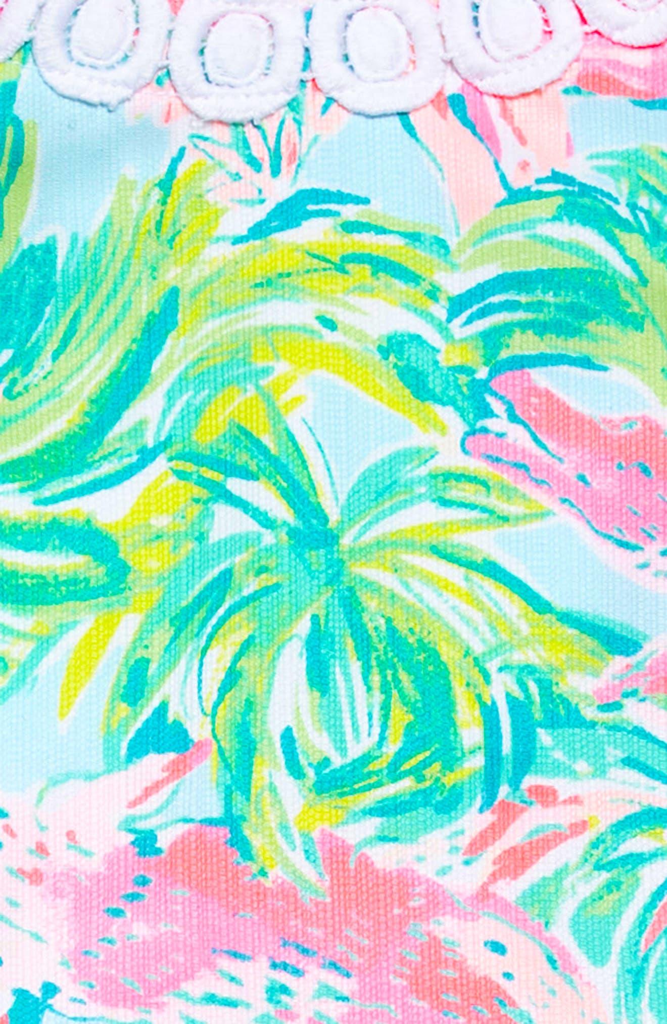 Mini Mila Shift Dress,                             Alternate thumbnail 3, color,                             Seasalt Blue On Parade