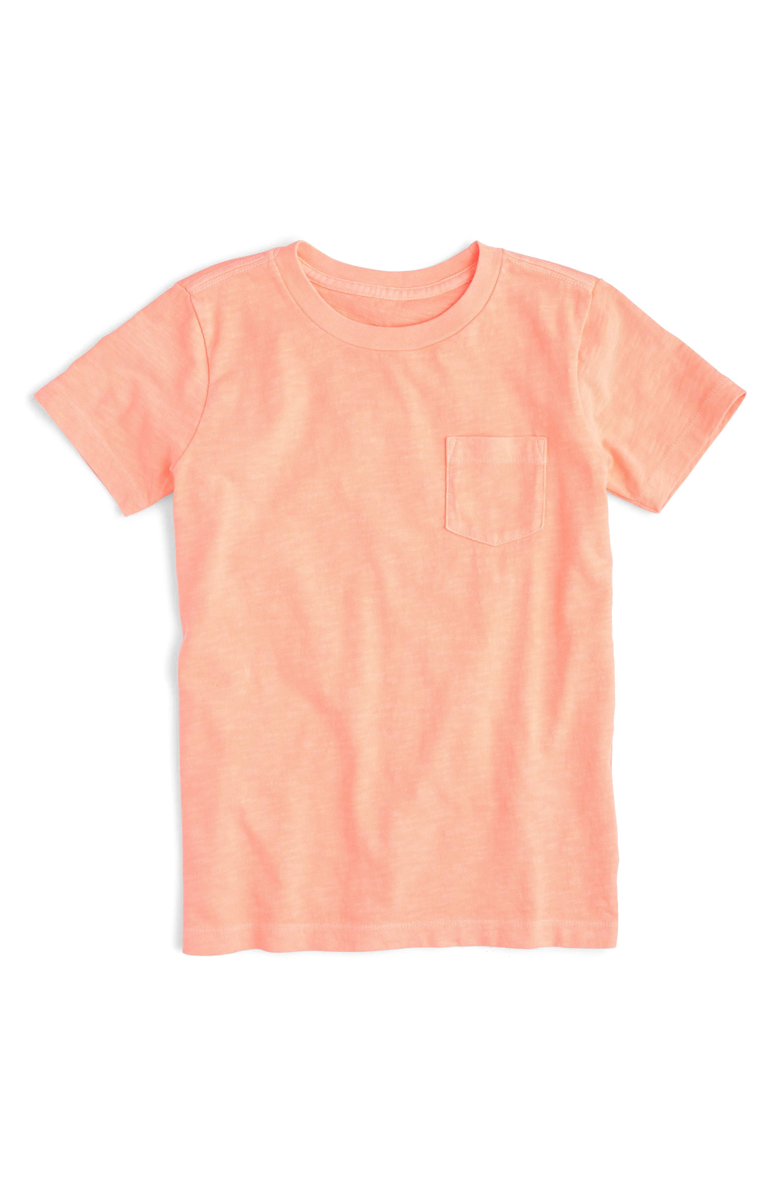 crewcuts by J.Crew Slubbed Pocket T-Shirt (Toddler Boys, Little Boys & Big Boys)